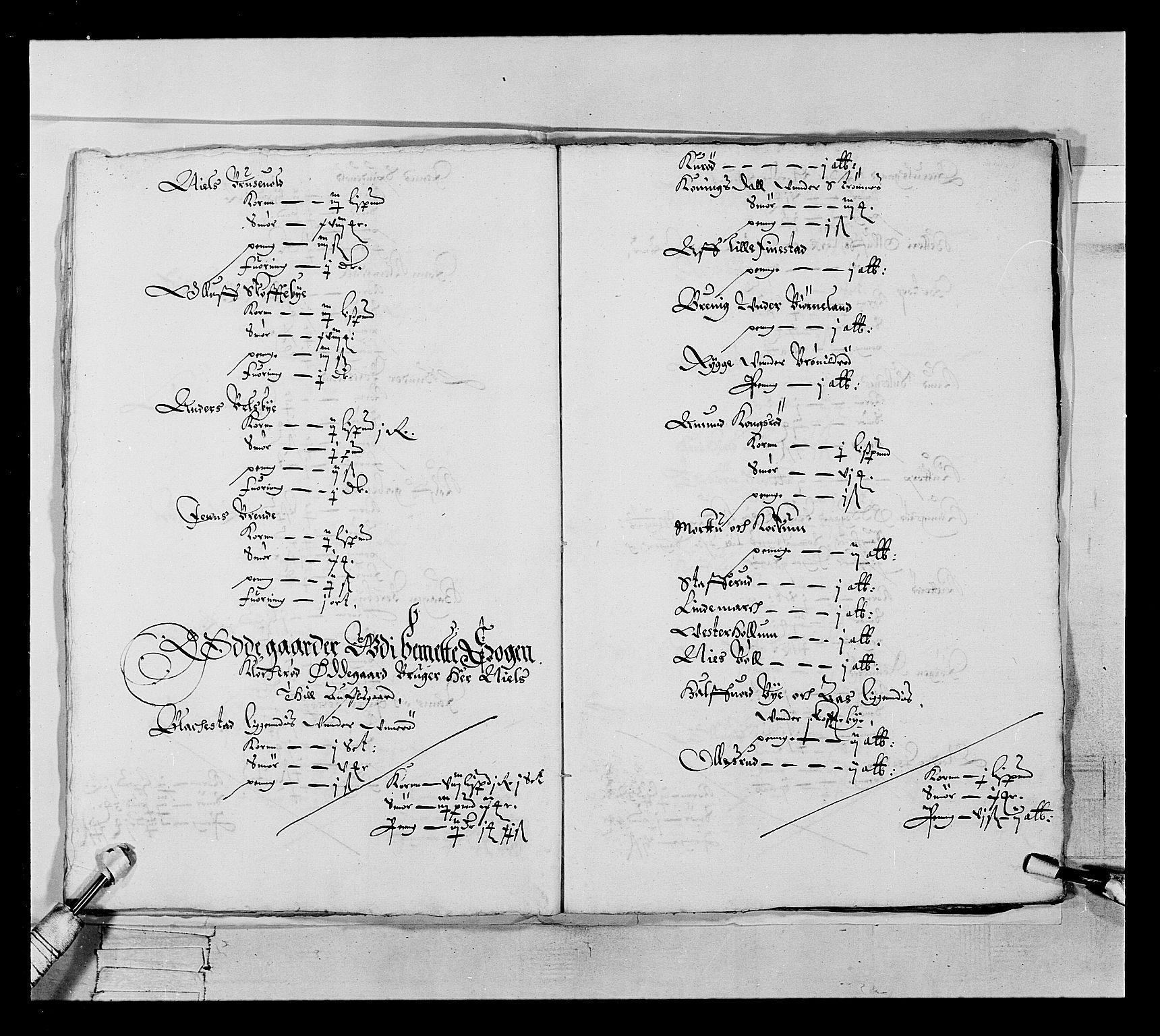 RA, Stattholderembetet 1572-1771, Ek/L0022: Jordebøker 1633-1658:, 1646-1647, s. 19