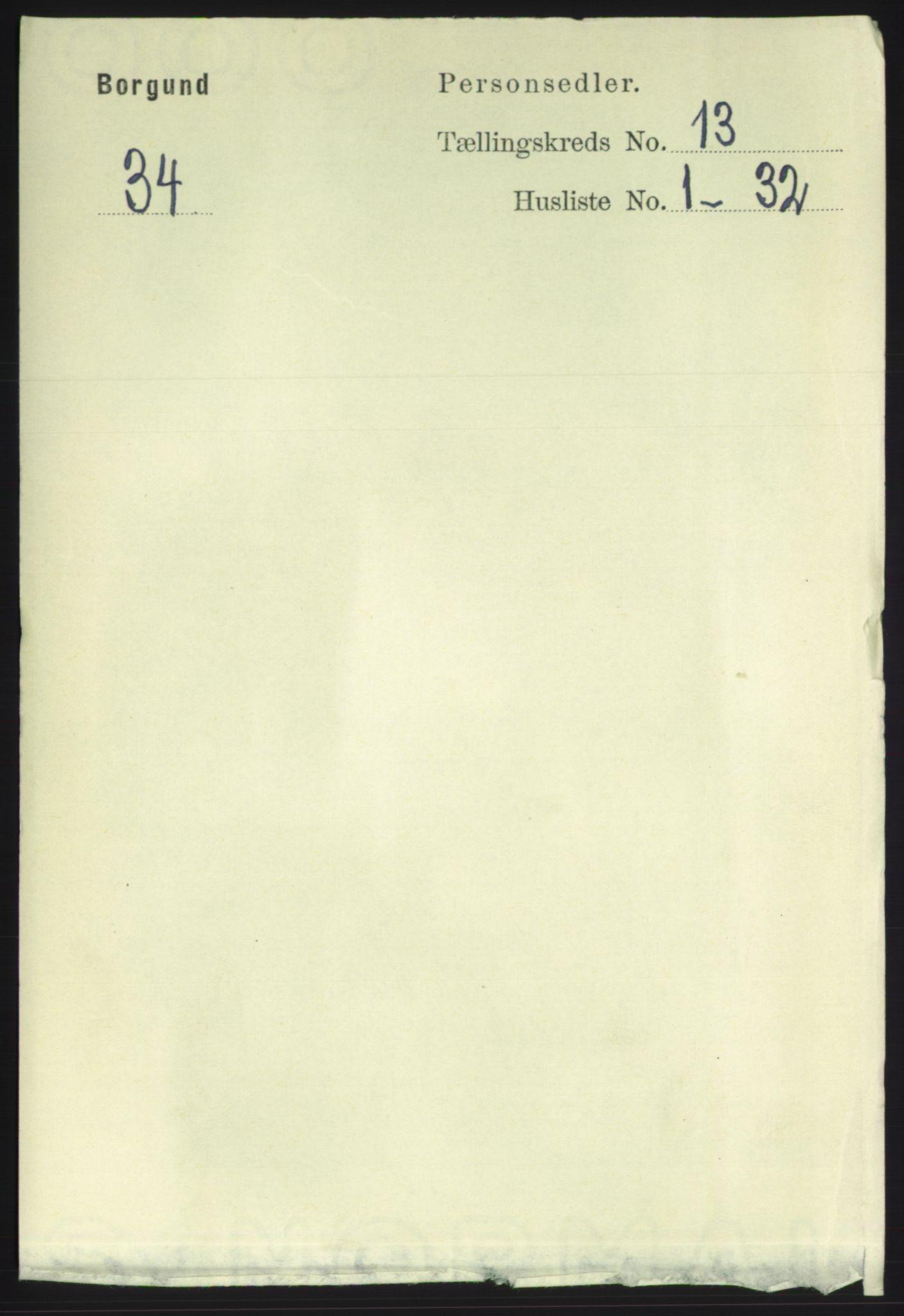 RA, Folketelling 1891 for 1531 Borgund herred, 1891, s. 3549