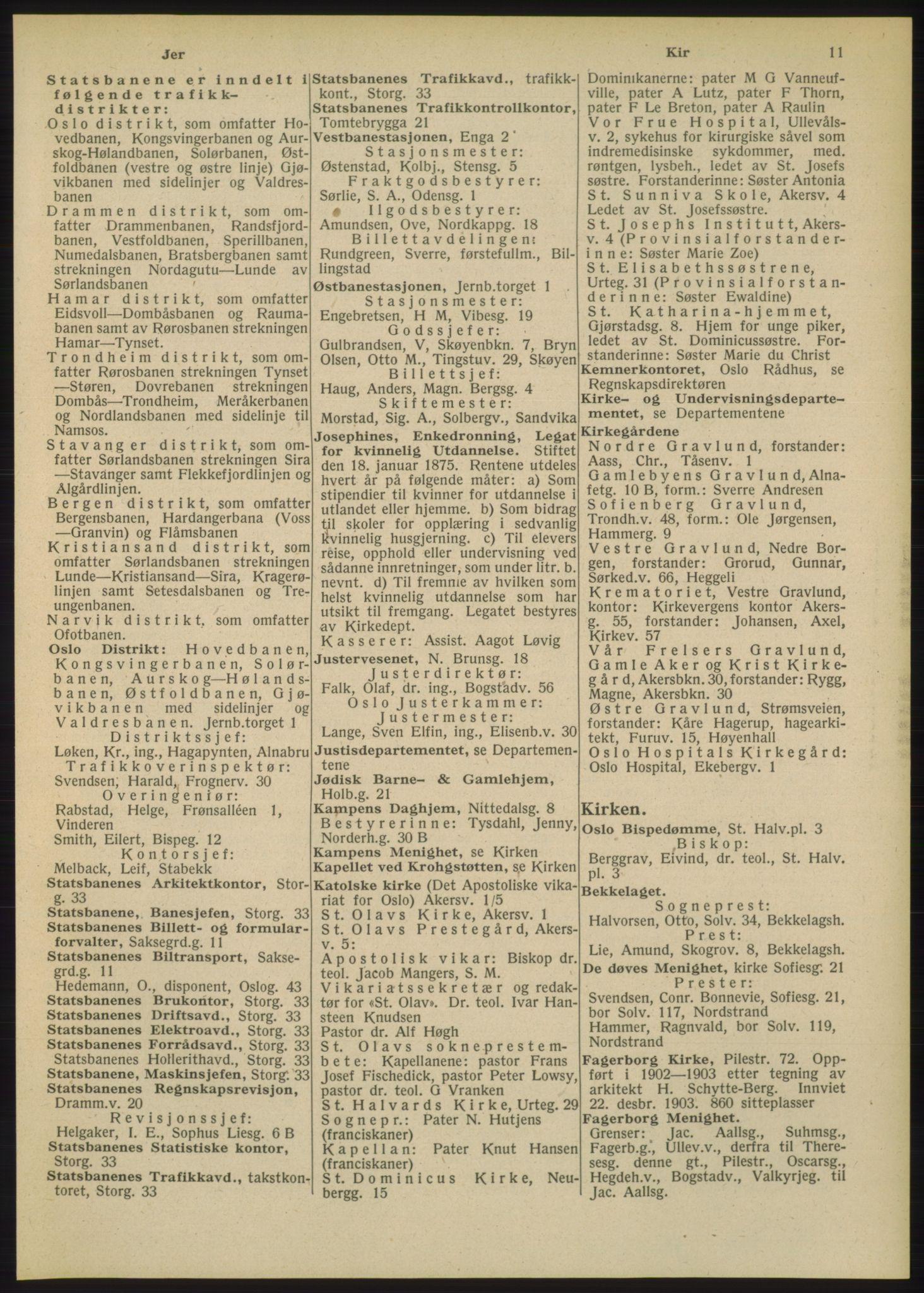 RA, Oslo adressebok (publikasjon)*, 1948, s. 11