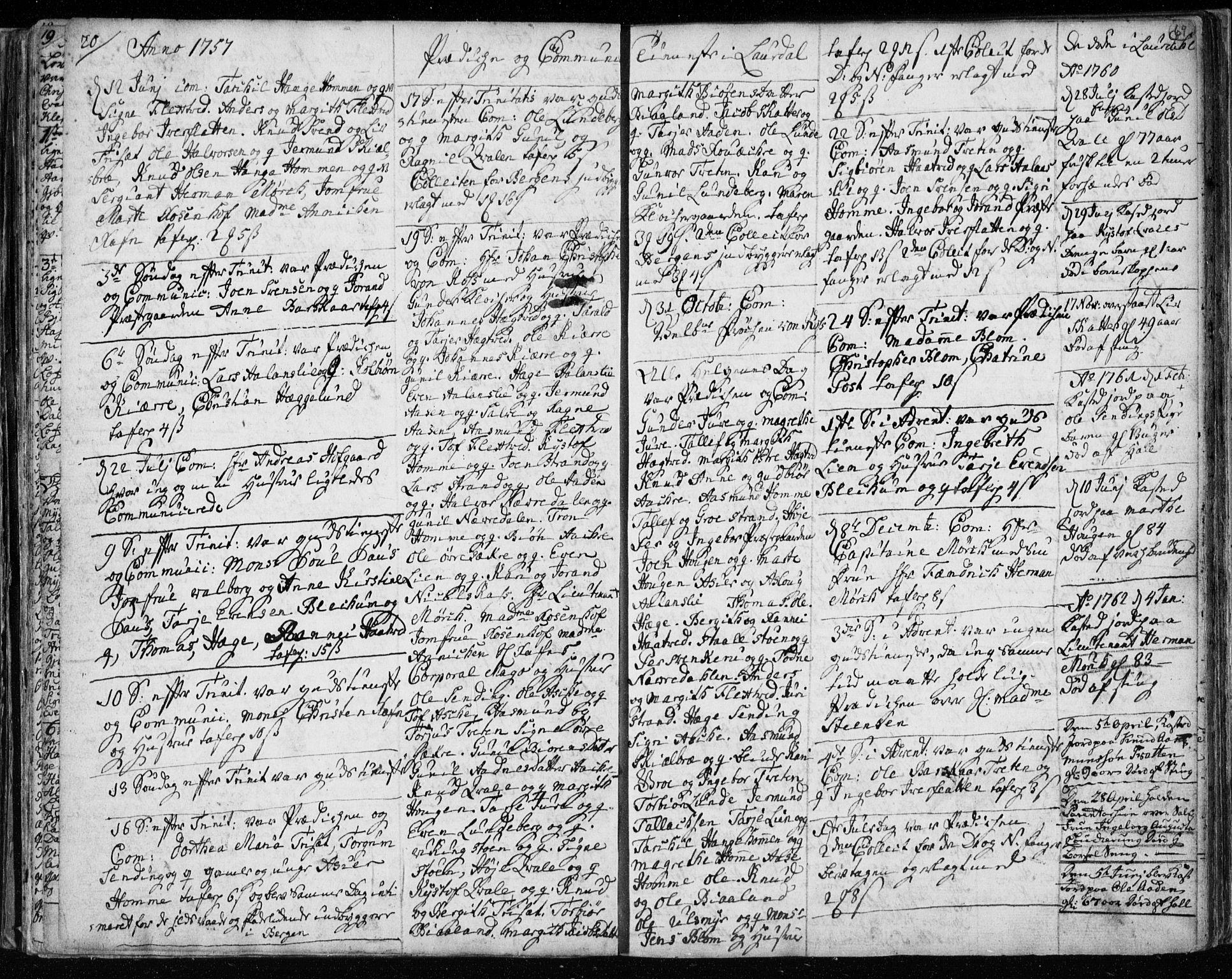 SAKO, Lårdal kirkebøker, F/Fa/L0003: Ministerialbok nr. I 3, 1754-1790, s. 69