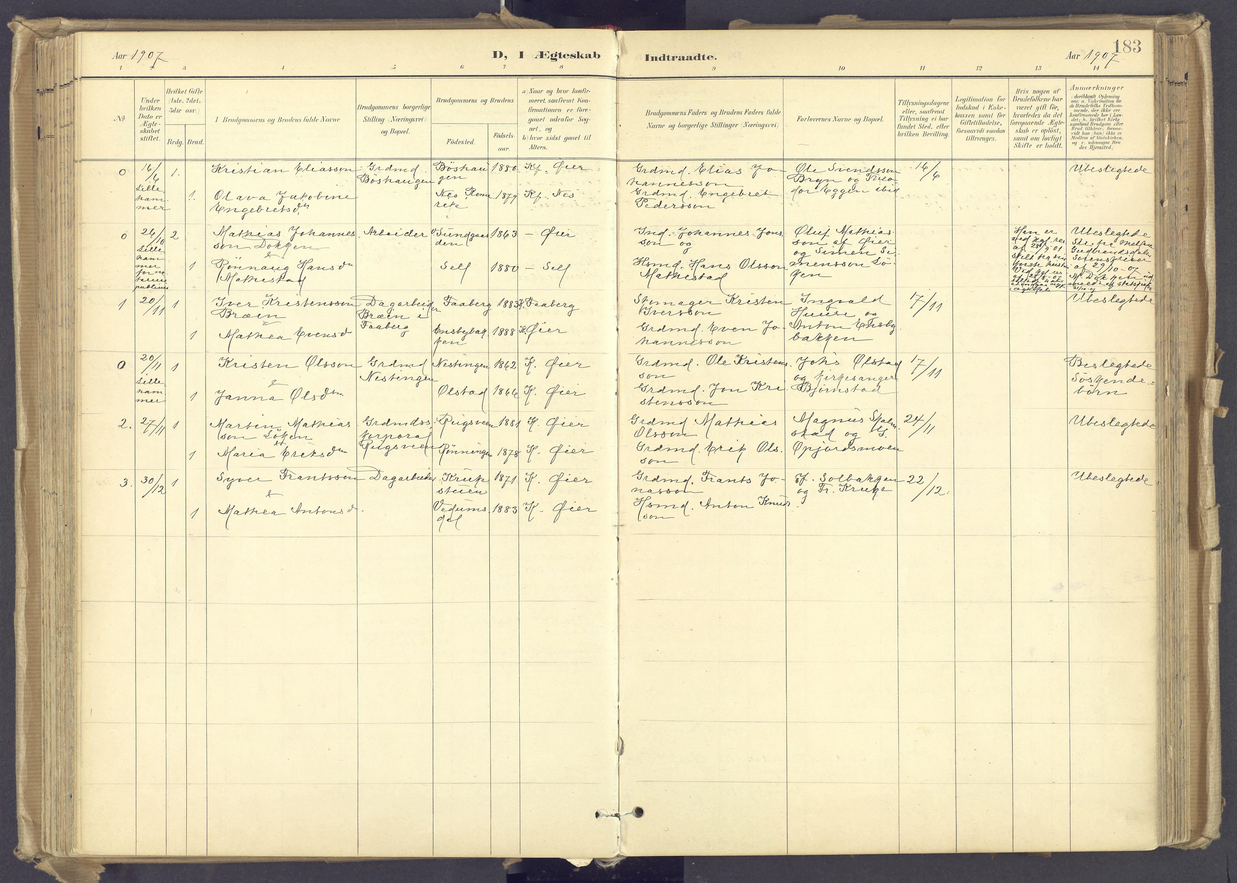 SAH, Øyer prestekontor, Ministerialbok nr. 12, 1897-1920, s. 183