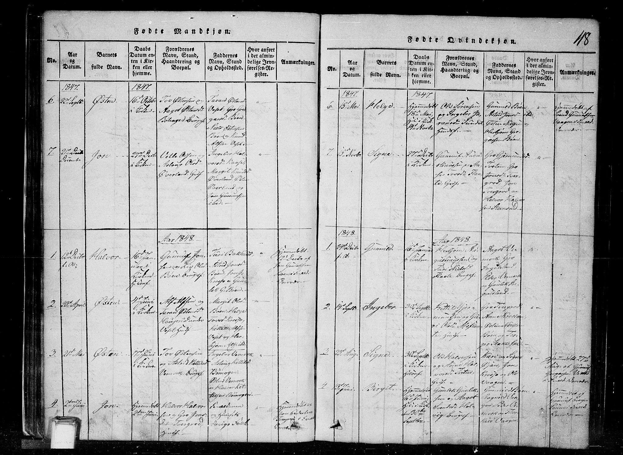 SAKO, Tinn kirkebøker, G/Gc/L0001: Klokkerbok nr. III 1, 1815-1879, s. 48