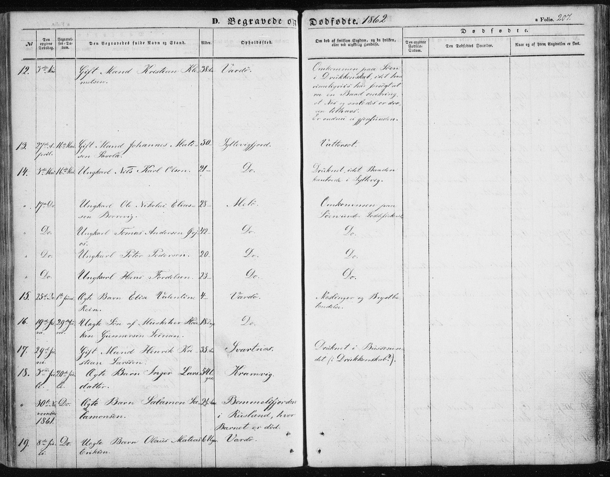 SATØ, Vardø sokneprestkontor, H/Ha/L0004kirke: Ministerialbok nr. 4, 1862-1871, s. 207