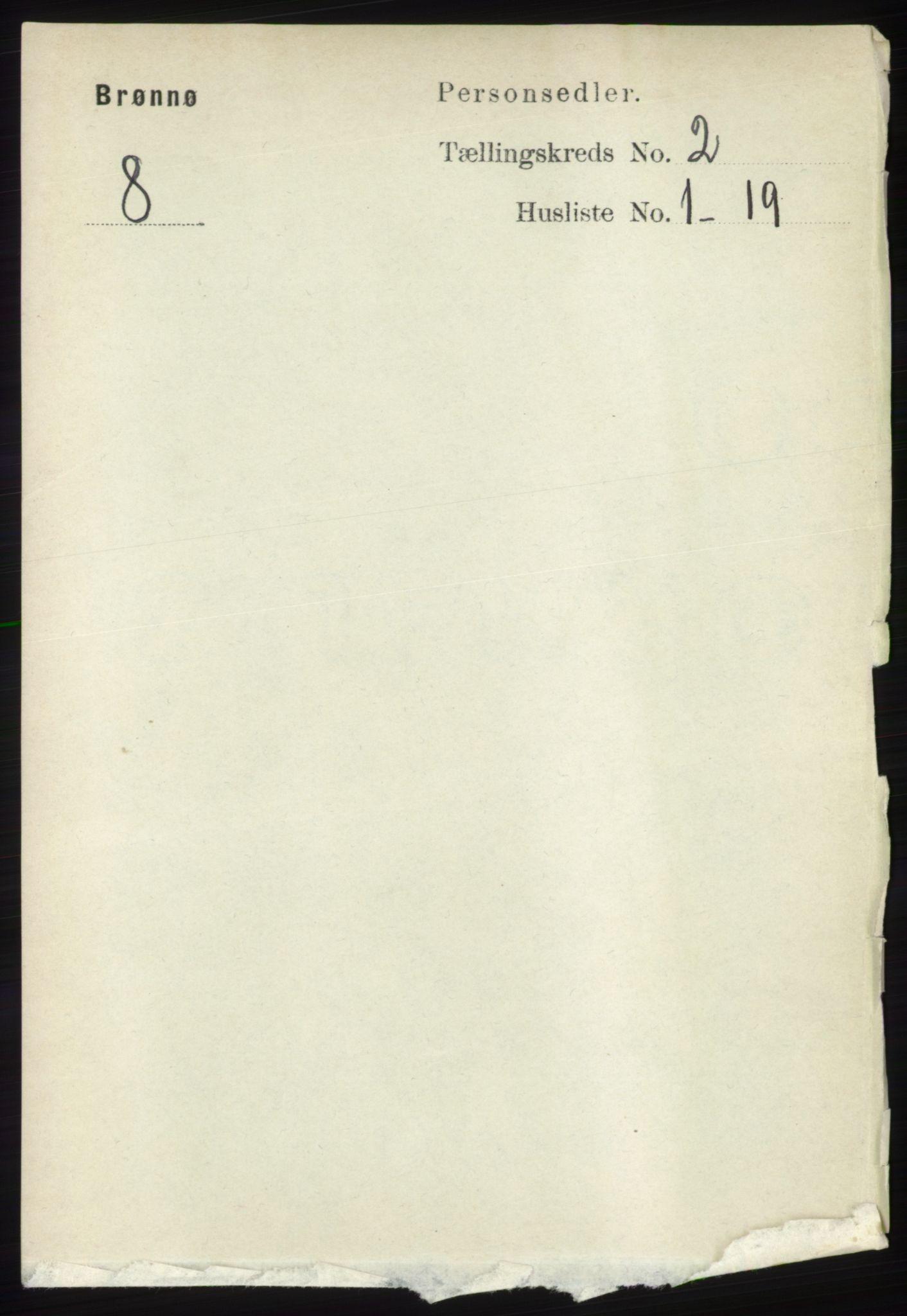 RA, Folketelling 1891 for 1814 Brønnøy herred, 1891, s. 805