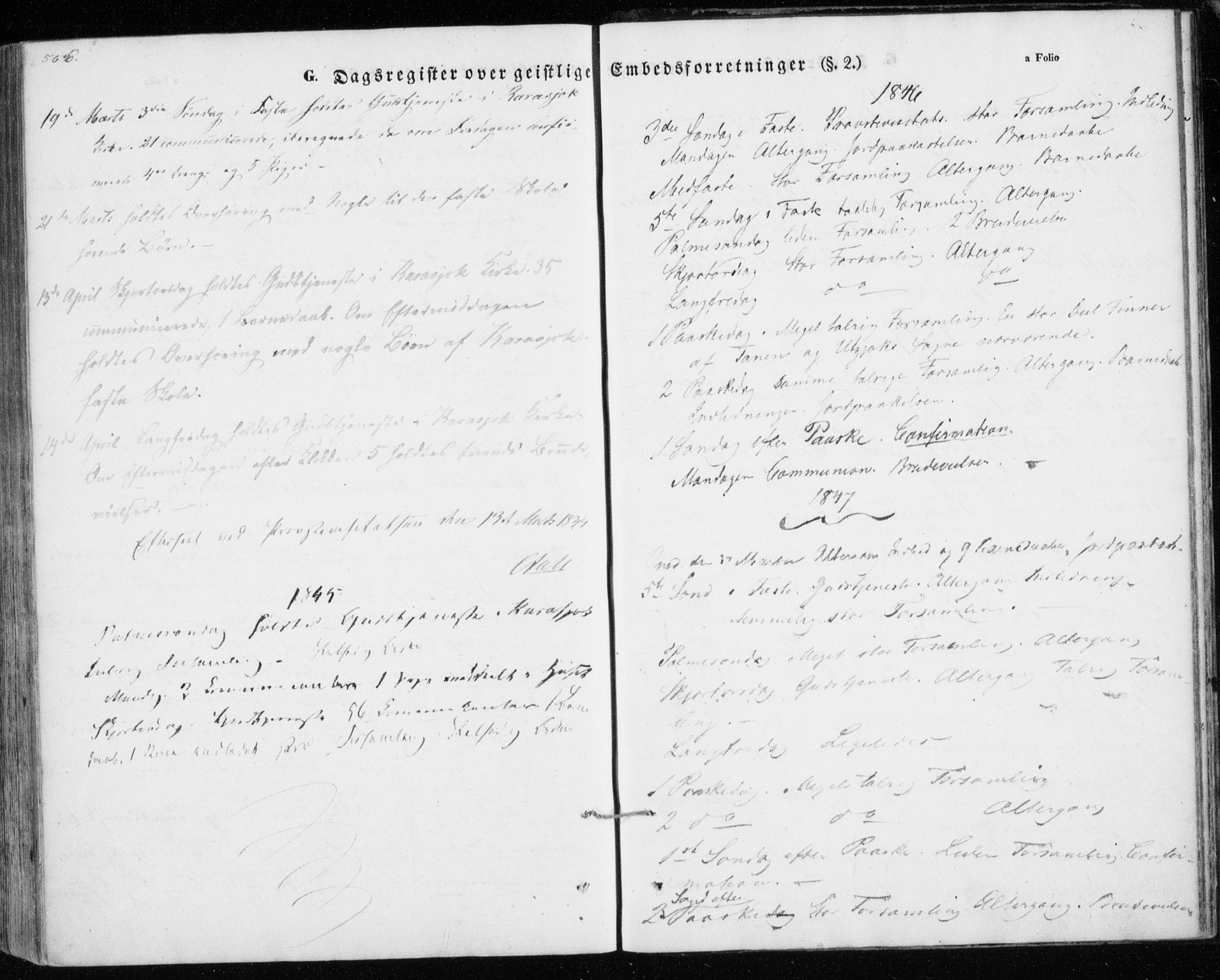 SATØ, Kistrand/Porsanger sokneprestembete, H/Ha/L0012.kirke: Ministerialbok nr. 12, 1843-1871, s. 566-567