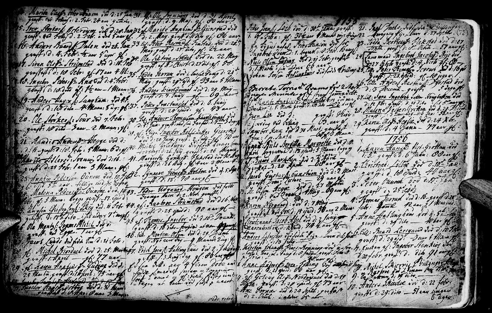 SAT, Ministerialprotokoller, klokkerbøker og fødselsregistre - Nord-Trøndelag, 746/L0439: Ministerialbok nr. 746A01, 1688-1759, s. 72