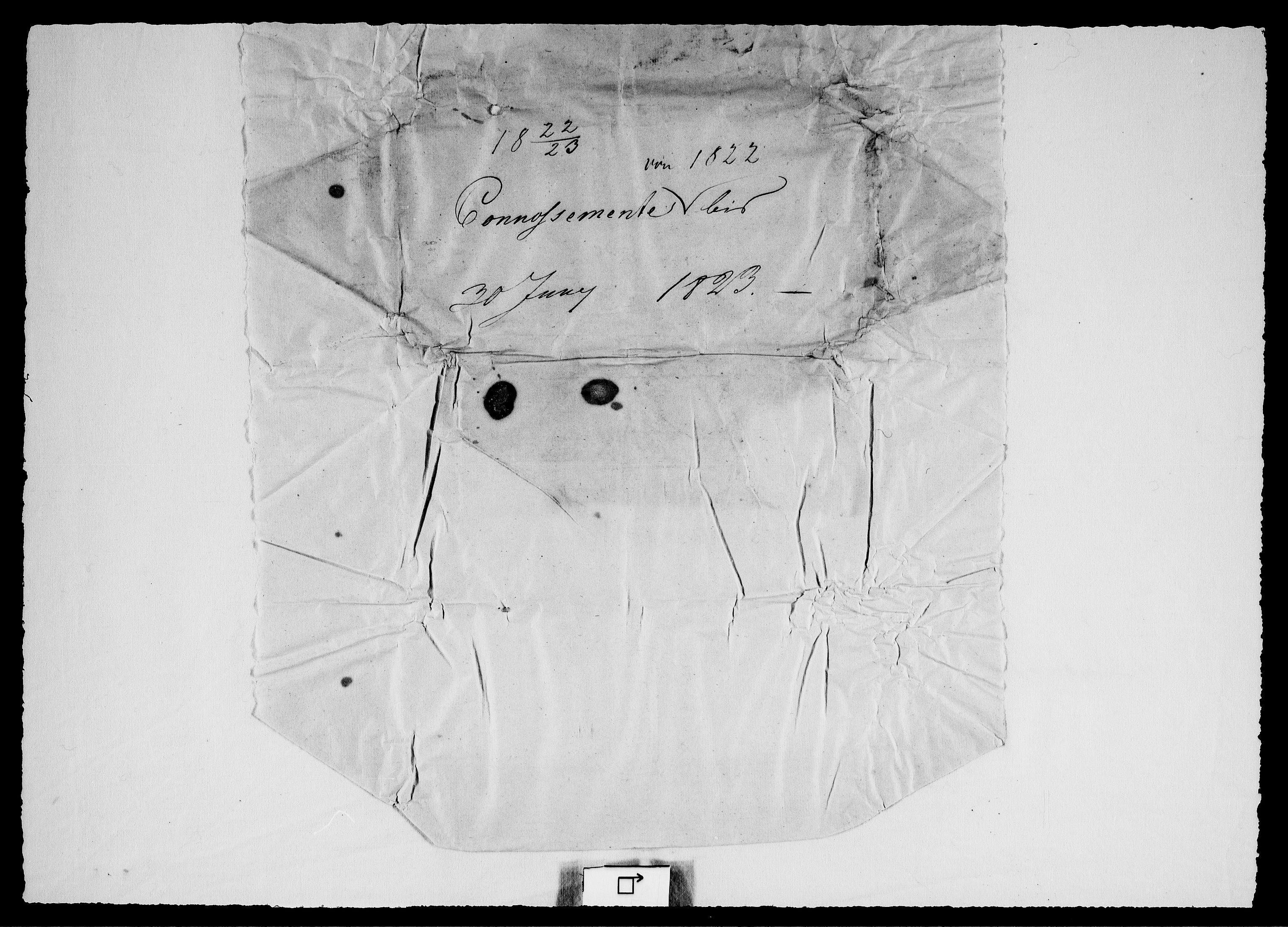 RA, Modums Blaafarveværk, G/Gd/Gdc/L0225, 1822-1834, s. 2