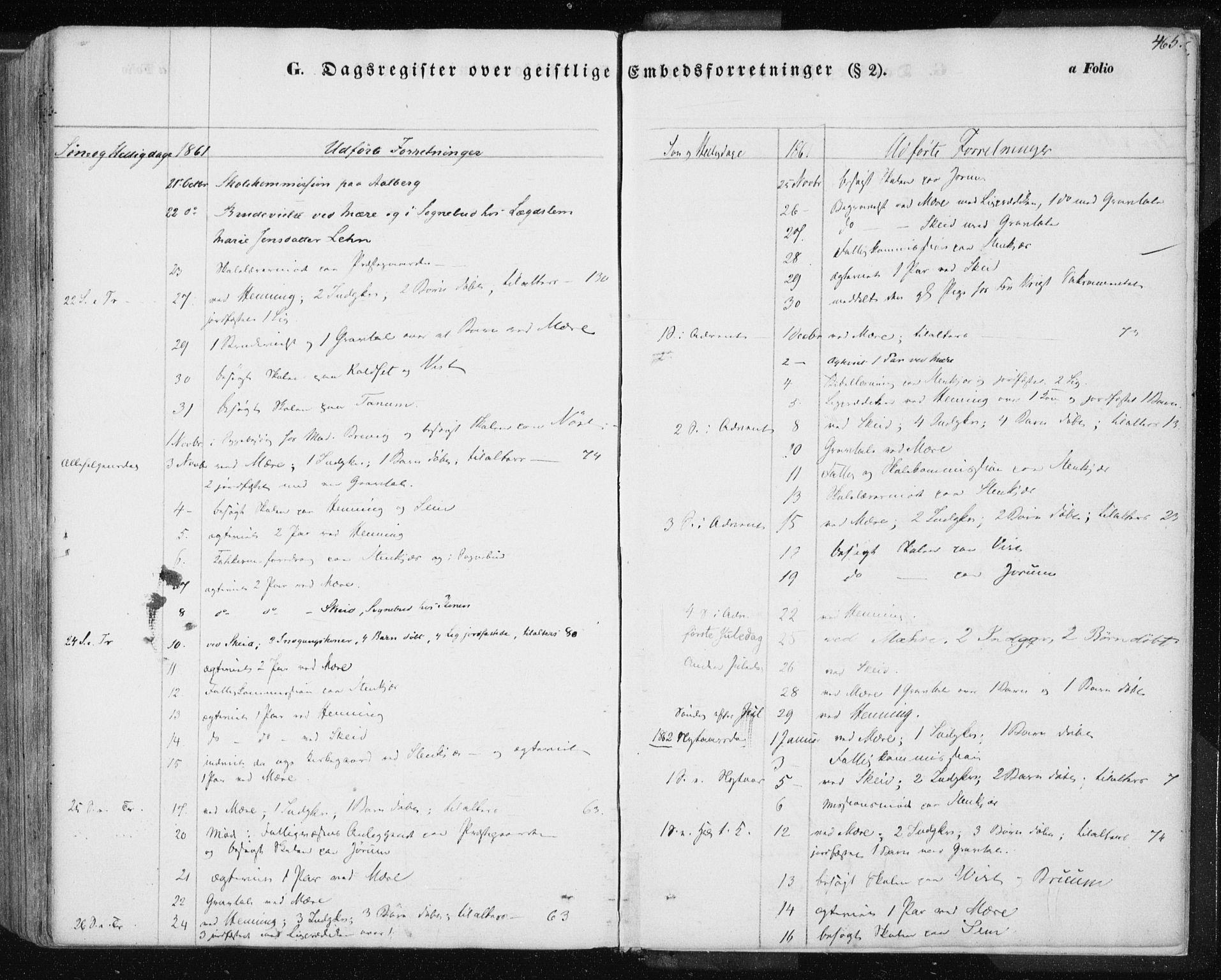 SAT, Ministerialprotokoller, klokkerbøker og fødselsregistre - Nord-Trøndelag, 735/L0342: Ministerialbok nr. 735A07 /1, 1849-1862, s. 465