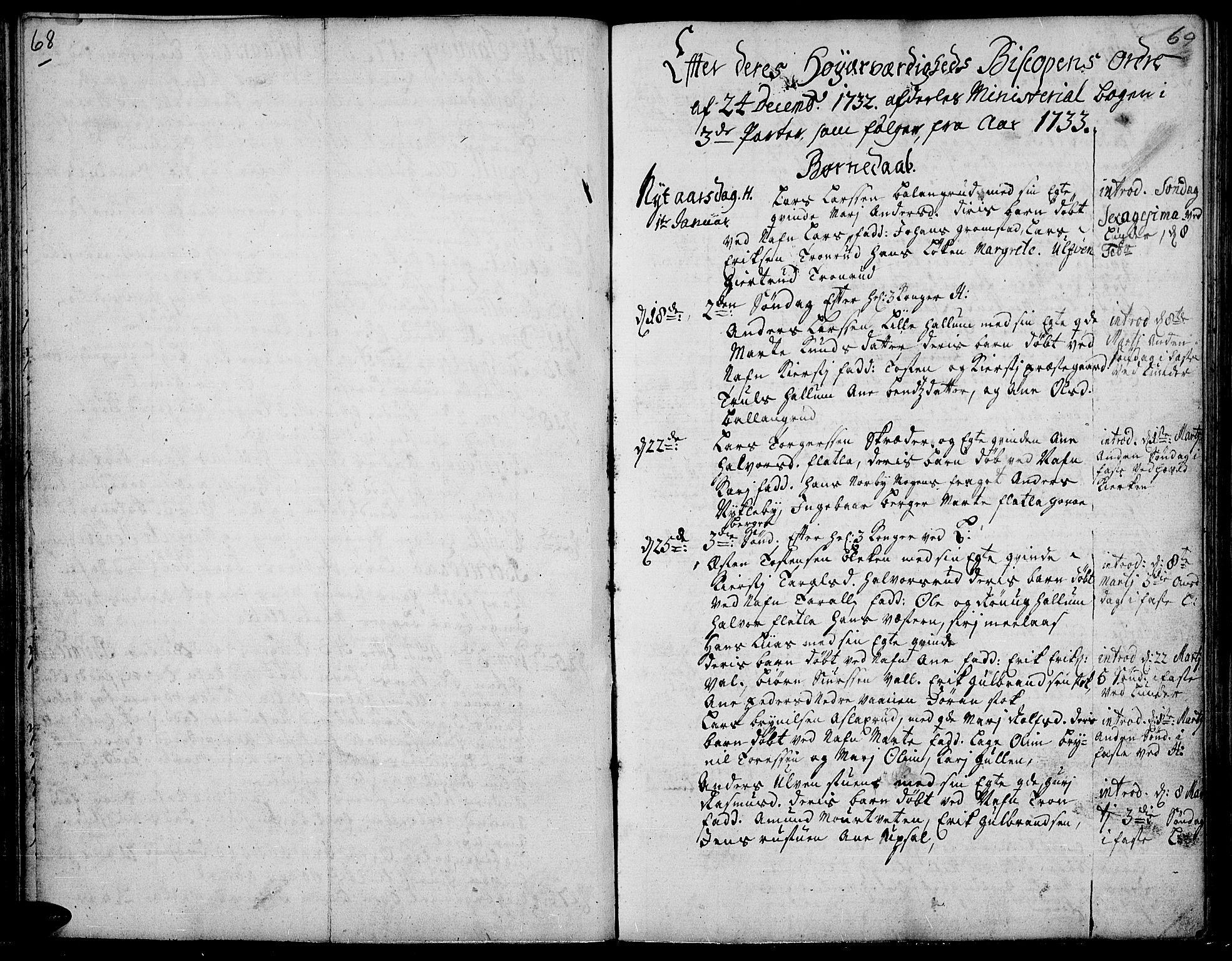 SAH, Jevnaker prestekontor, Ministerialbok nr. 2, 1725-1751, s. 68-69