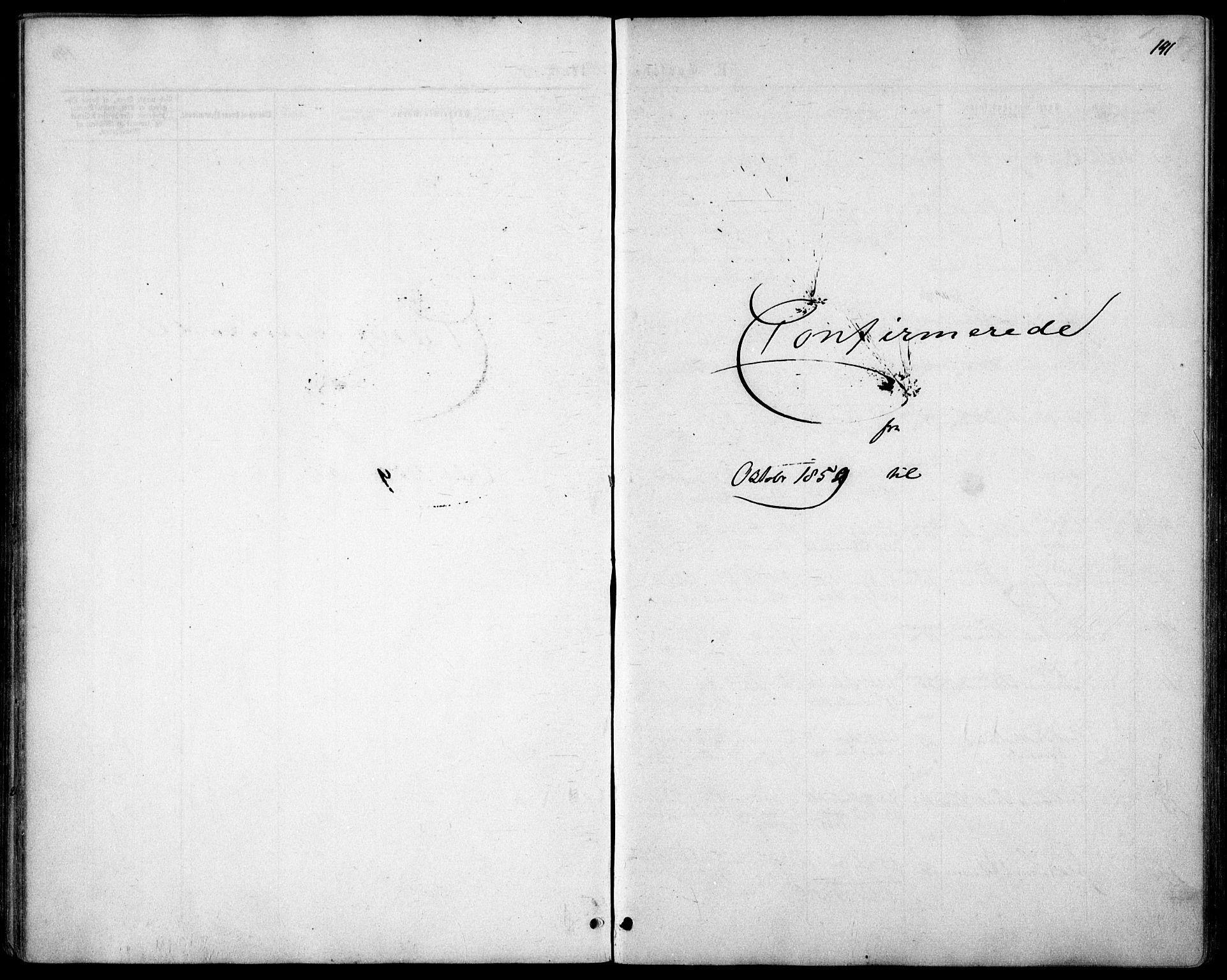SAO, Garnisonsmenigheten Kirkebøker, F/Fa/L0010: Ministerialbok nr. 10, 1859-1869, s. 141