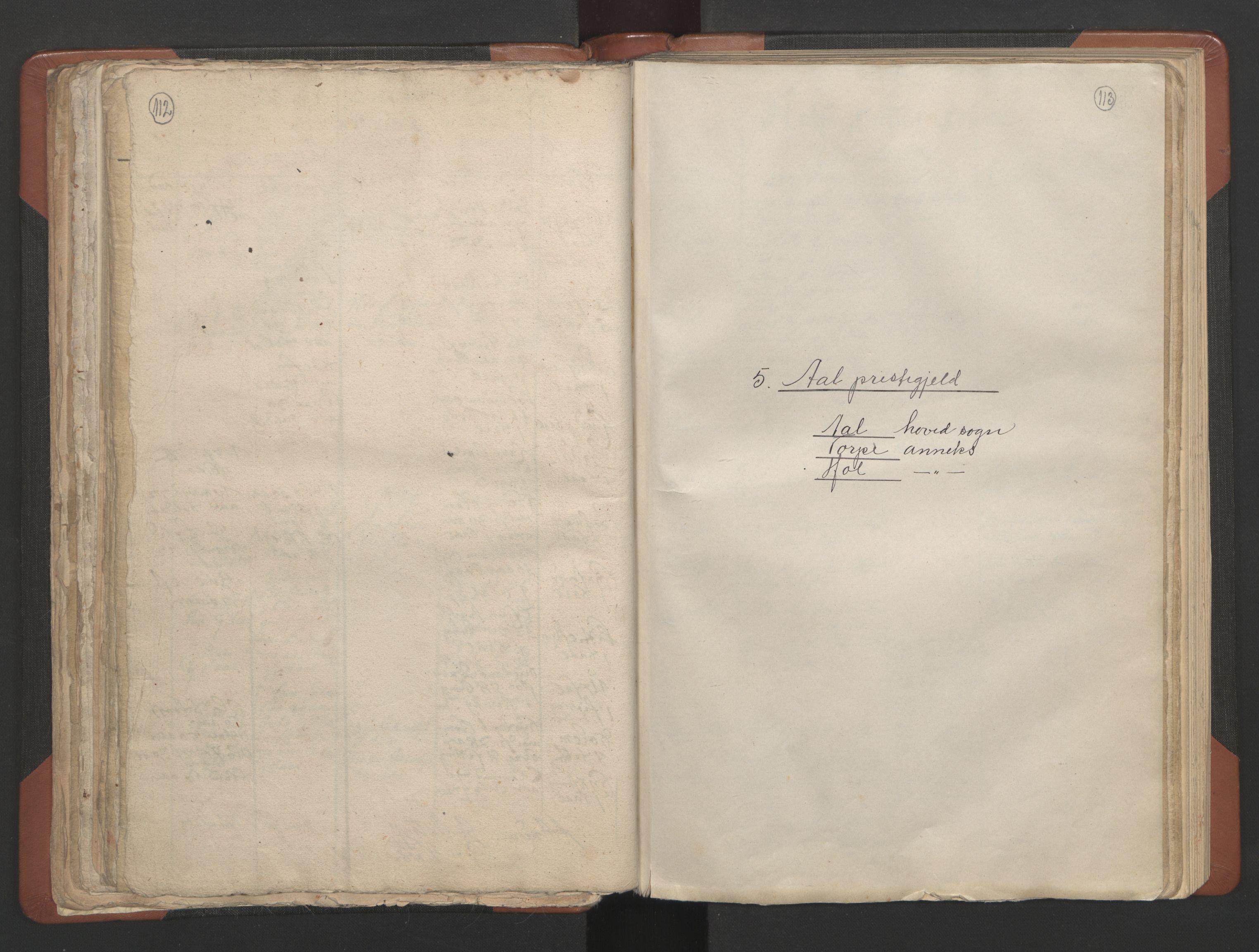 RA, Sogneprestenes manntall 1664-1666, nr. 8: Valdres prosti, 1664-1666, s. 112-113