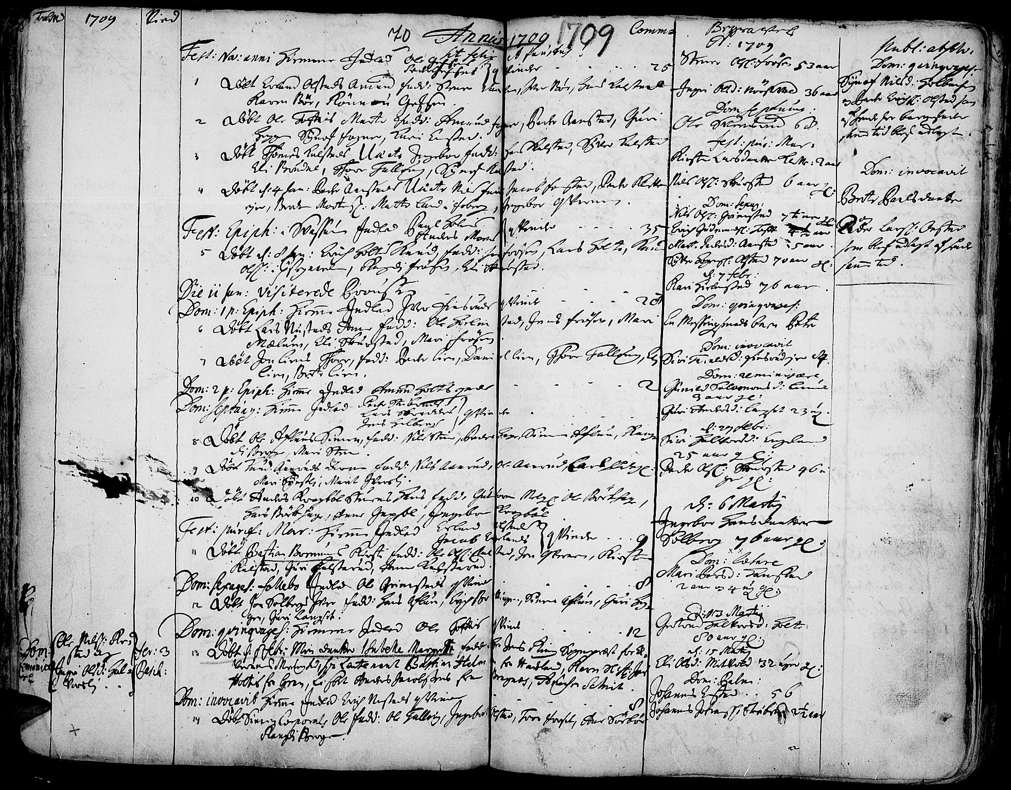 SAH, Gausdal prestekontor, Ministerialbok nr. 1, 1693-1728, s. 70