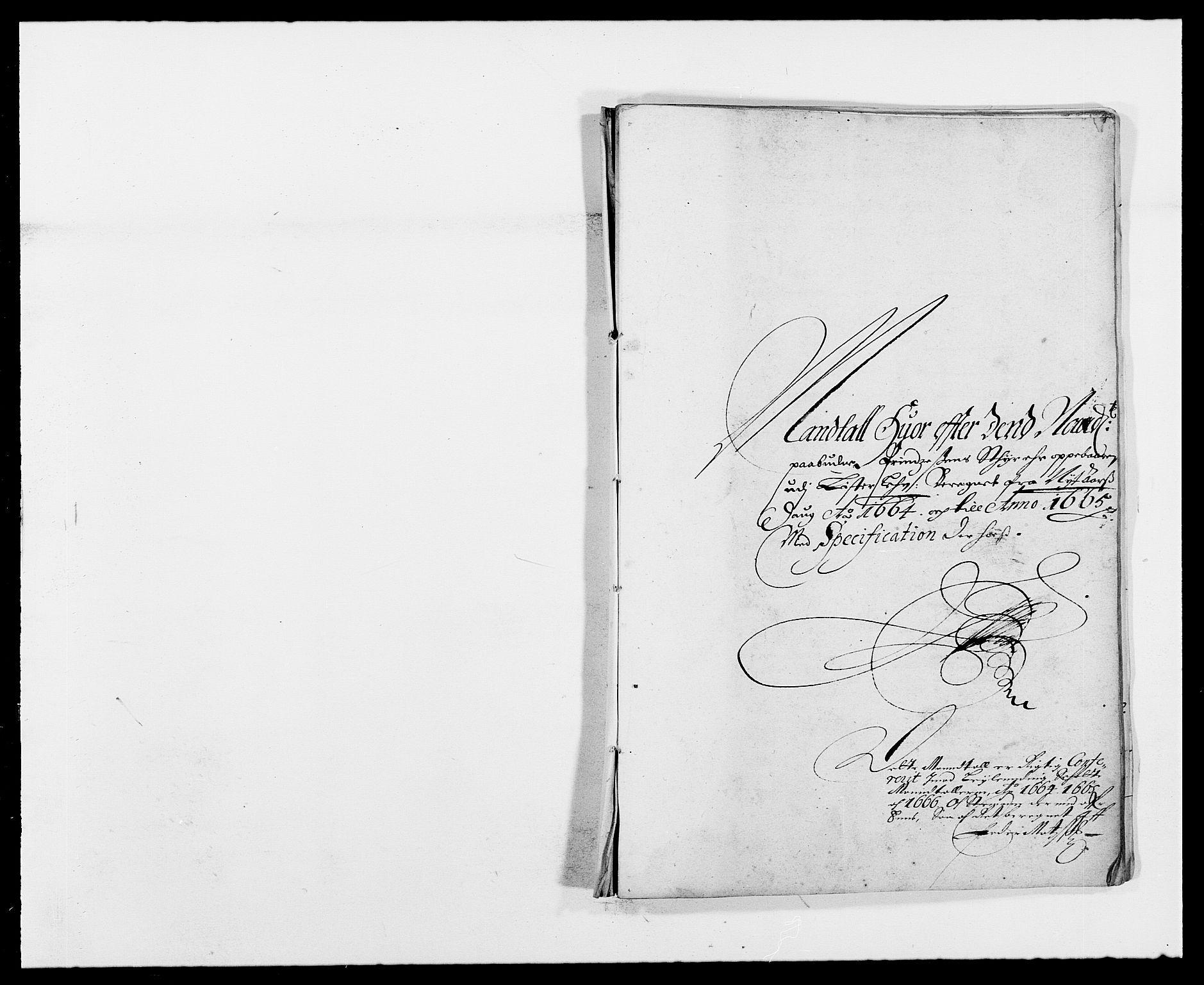 RA, Rentekammeret inntil 1814, Reviderte regnskaper, Fogderegnskap, R41/L2523: Fogderegnskap Lista, 1663-1664, s. 375