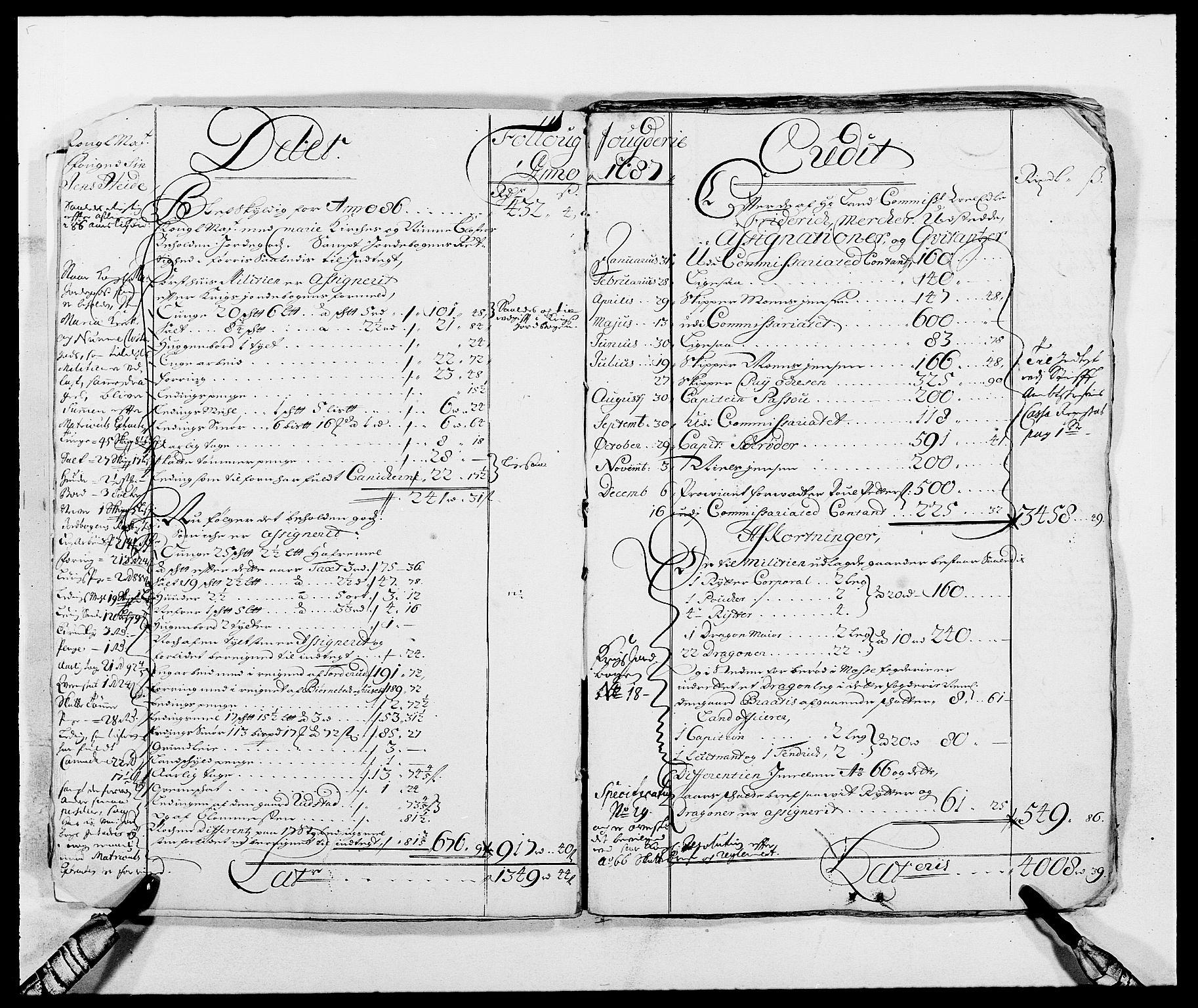 RA, Rentekammeret inntil 1814, Reviderte regnskaper, Fogderegnskap, R09/L0436: Fogderegnskap Follo, 1685-1691, s. 12