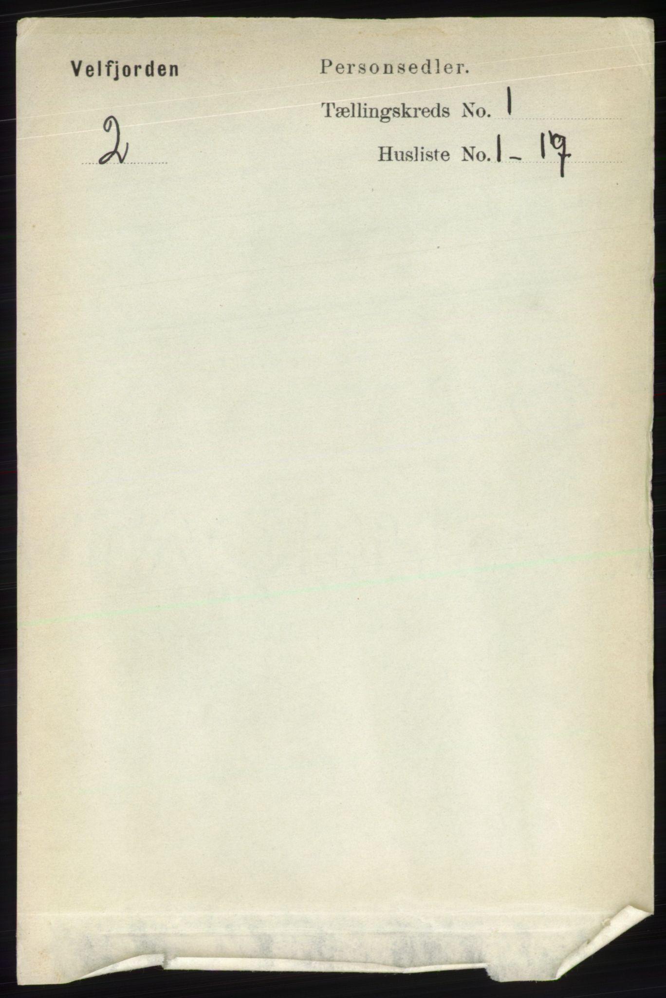 RA, Folketelling 1891 for 1813 Velfjord herred, 1891, s. 72