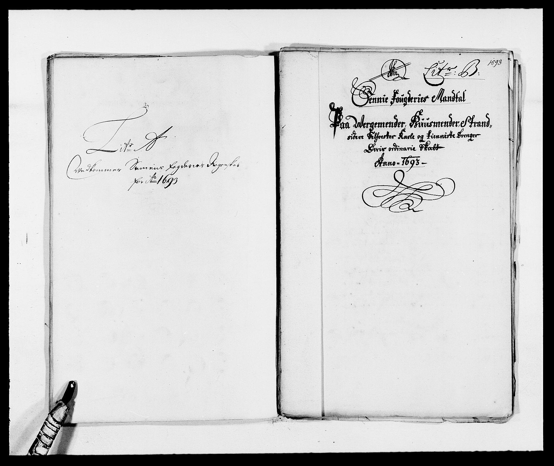 RA, Rentekammeret inntil 1814, Reviderte regnskaper, Fogderegnskap, R68/L4752: Fogderegnskap Senja og Troms, 1691-1693, s. 355