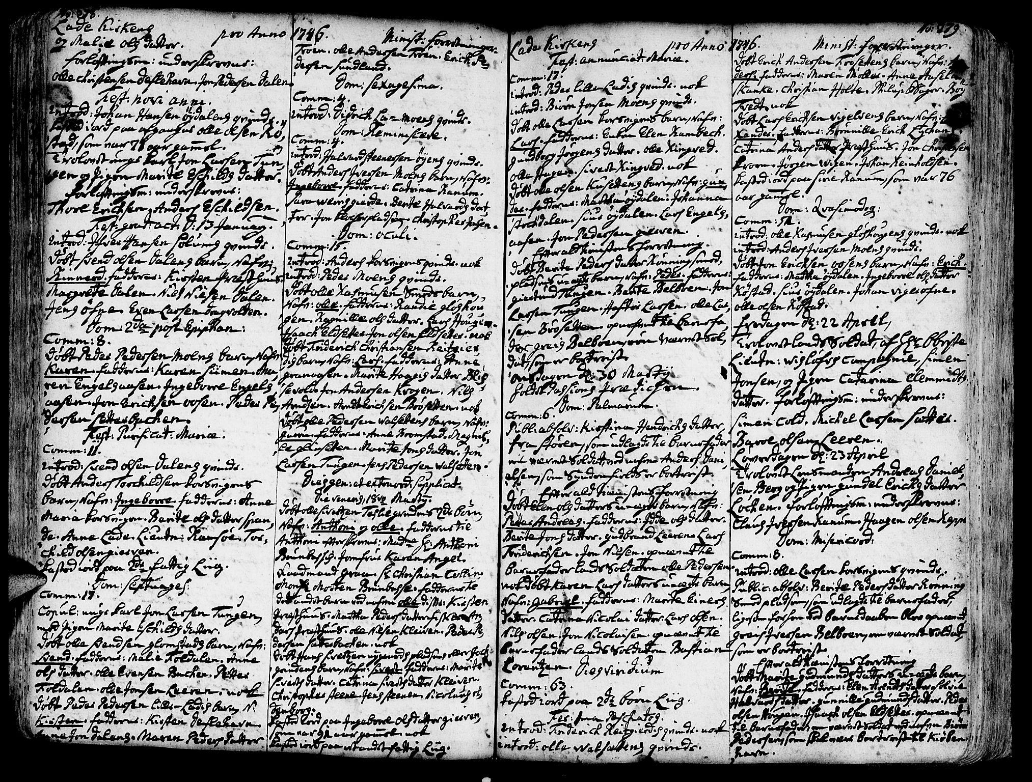 SAT, Ministerialprotokoller, klokkerbøker og fødselsregistre - Sør-Trøndelag, 606/L0275: Ministerialbok nr. 606A01 /1, 1727-1780, s. 278-279