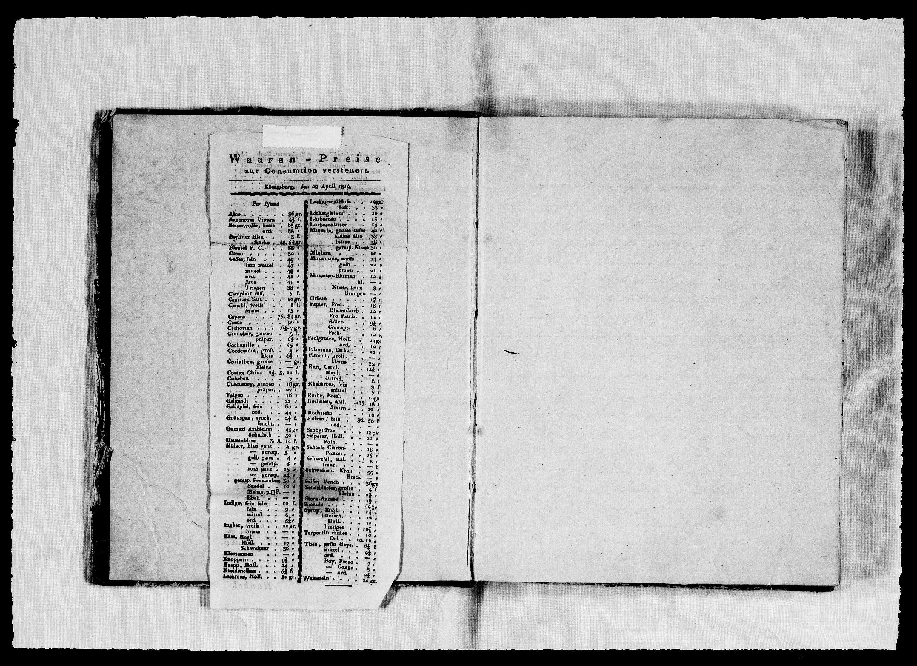 RA, Modums Blaafarveværk, G/Gb/L0065, 1821-1822, s. 2