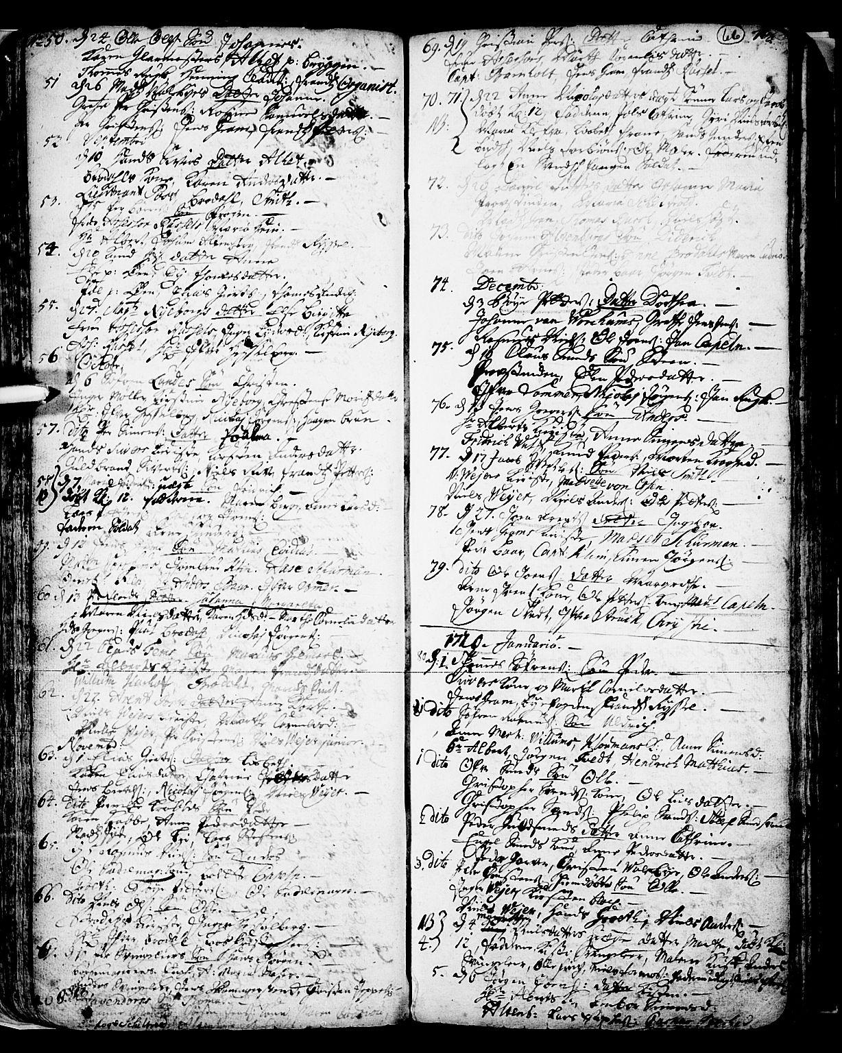 SAKO, Skien kirkebøker, F/Fa/L0002: Ministerialbok nr. 2, 1716-1757, s. 66