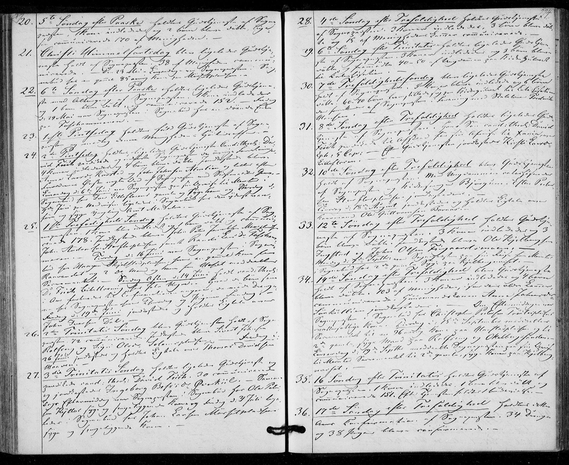 SAT, Ministerialprotokoller, klokkerbøker og fødselsregistre - Nord-Trøndelag, 703/L0028: Ministerialbok nr. 703A01, 1850-1862, s. 224