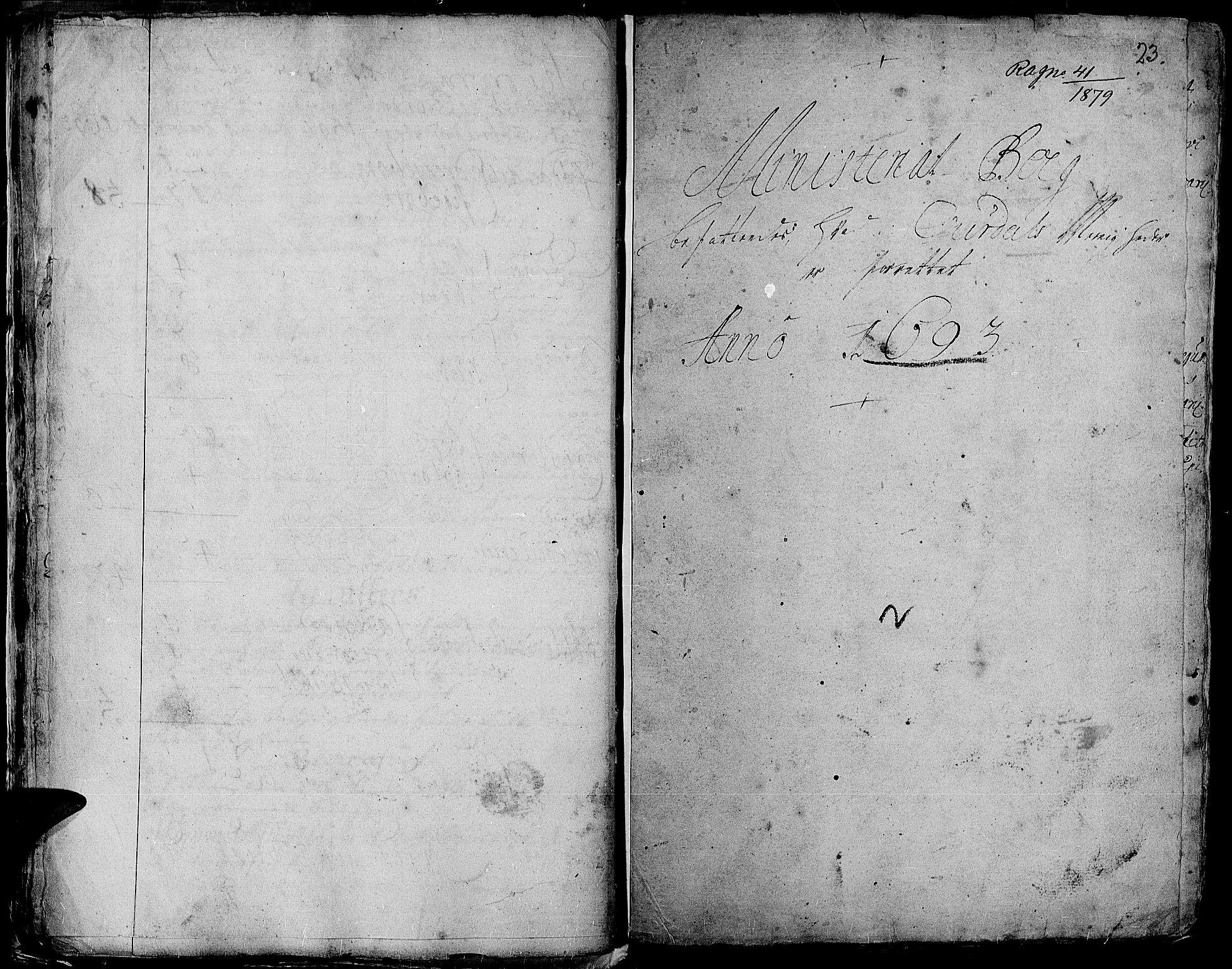 SAH, Aurdal prestekontor, Ministerialbok nr. 1-3, 1692-1730, s. 23
