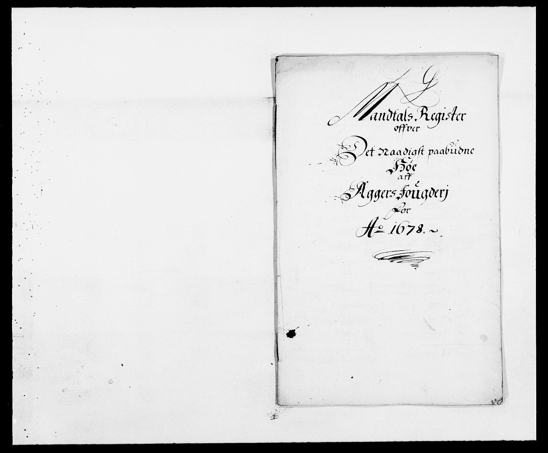 RA, Rentekammeret inntil 1814, Reviderte regnskaper, Fogderegnskap, R08/L0416: Fogderegnskap Aker, 1678-1681, s. 285