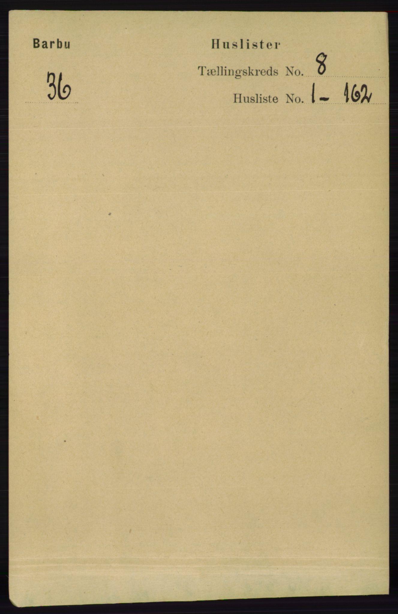 RA, Folketelling 1891 for 0990 Barbu herred, 1891, s. 5769