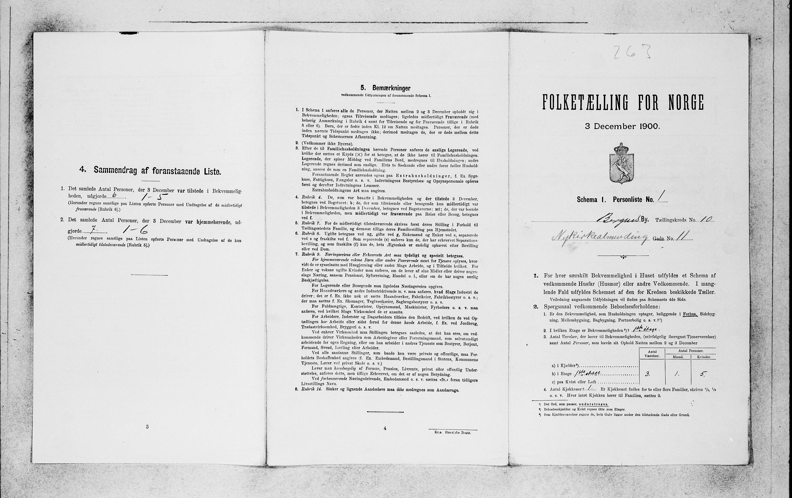 SAB, Folketelling 1900 for 1301 Bergen kjøpstad, 1900, s. 1959