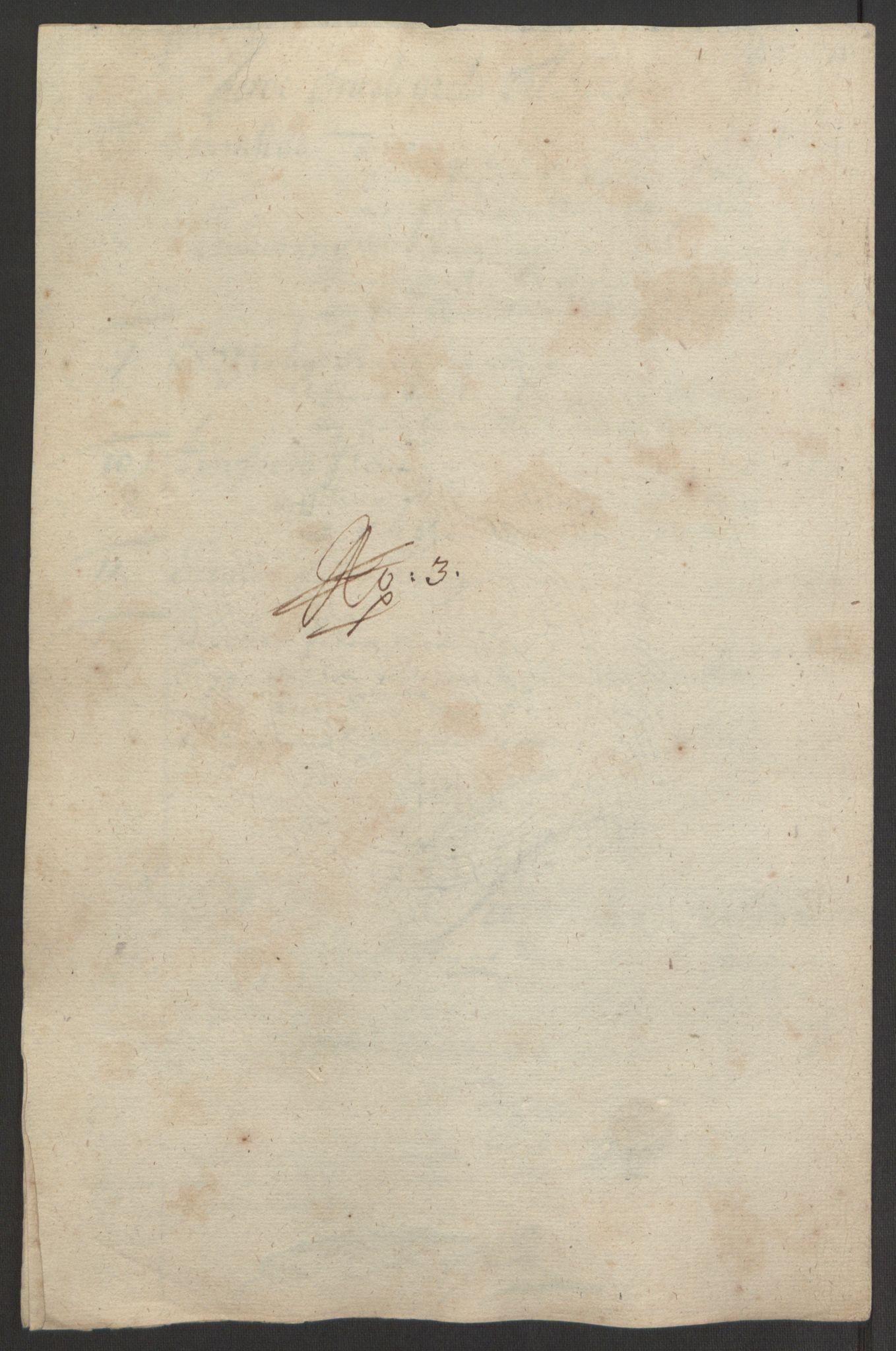 RA, Rentekammeret inntil 1814, Reviderte regnskaper, Fogderegnskap, R64/L4424: Fogderegnskap Namdal, 1692-1695, s. 318