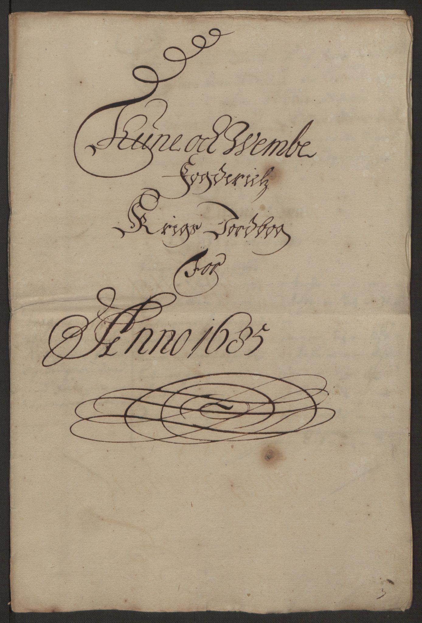 RA, Rentekammeret inntil 1814, Reviderte regnskaper, Fogderegnskap, R03/L0118: Fogderegnskap Onsøy, Tune, Veme og Åbygge fogderi, 1684-1689, s. 176