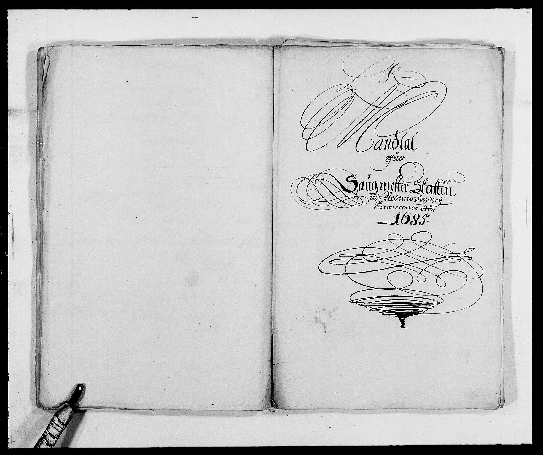 RA, Rentekammeret inntil 1814, Reviderte regnskaper, Fogderegnskap, R39/L2308: Fogderegnskap Nedenes, 1684-1689, s. 283