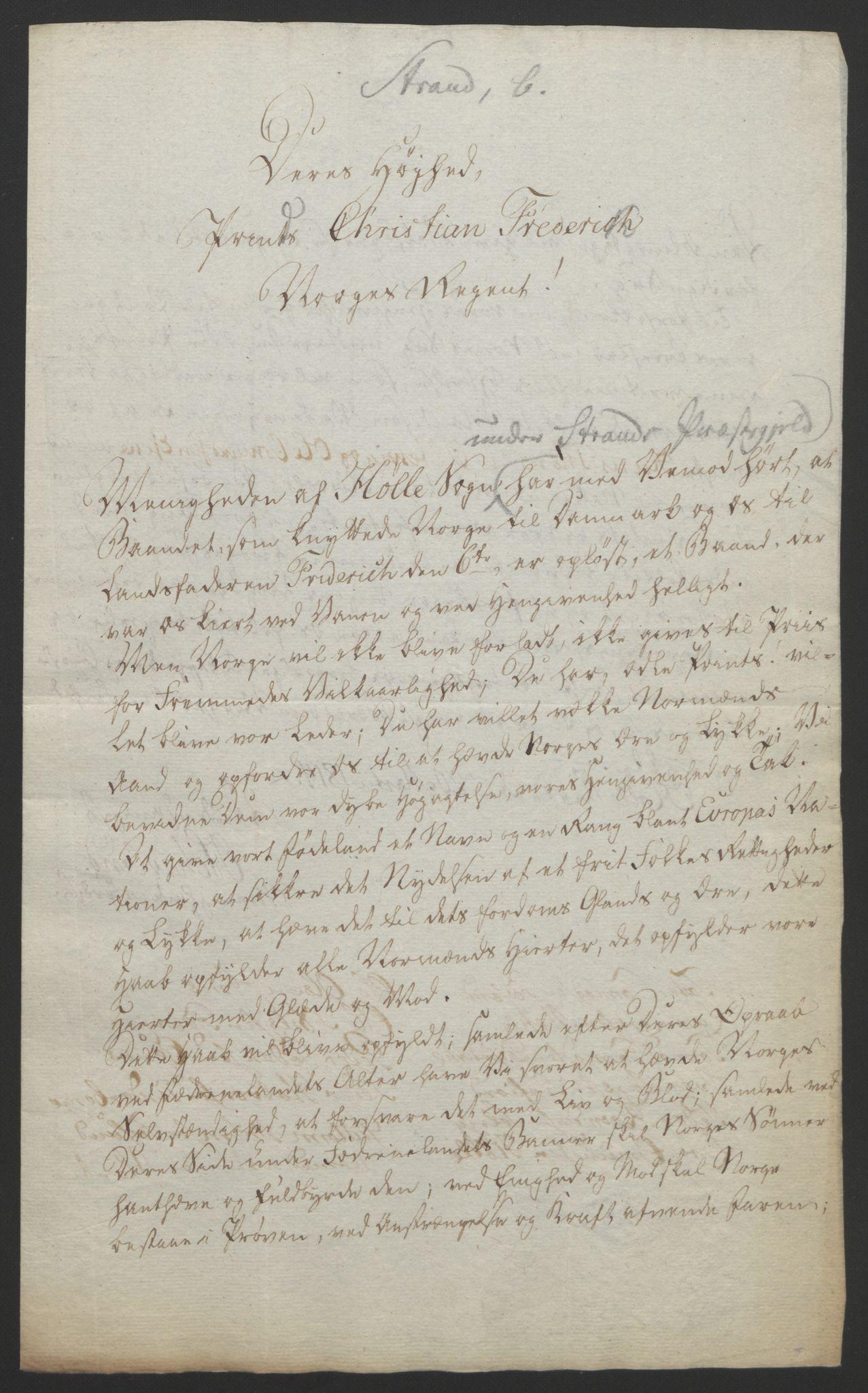 RA, Statsrådssekretariatet, D/Db/L0008: Fullmakter for Eidsvollsrepresentantene i 1814. , 1814, s. 254
