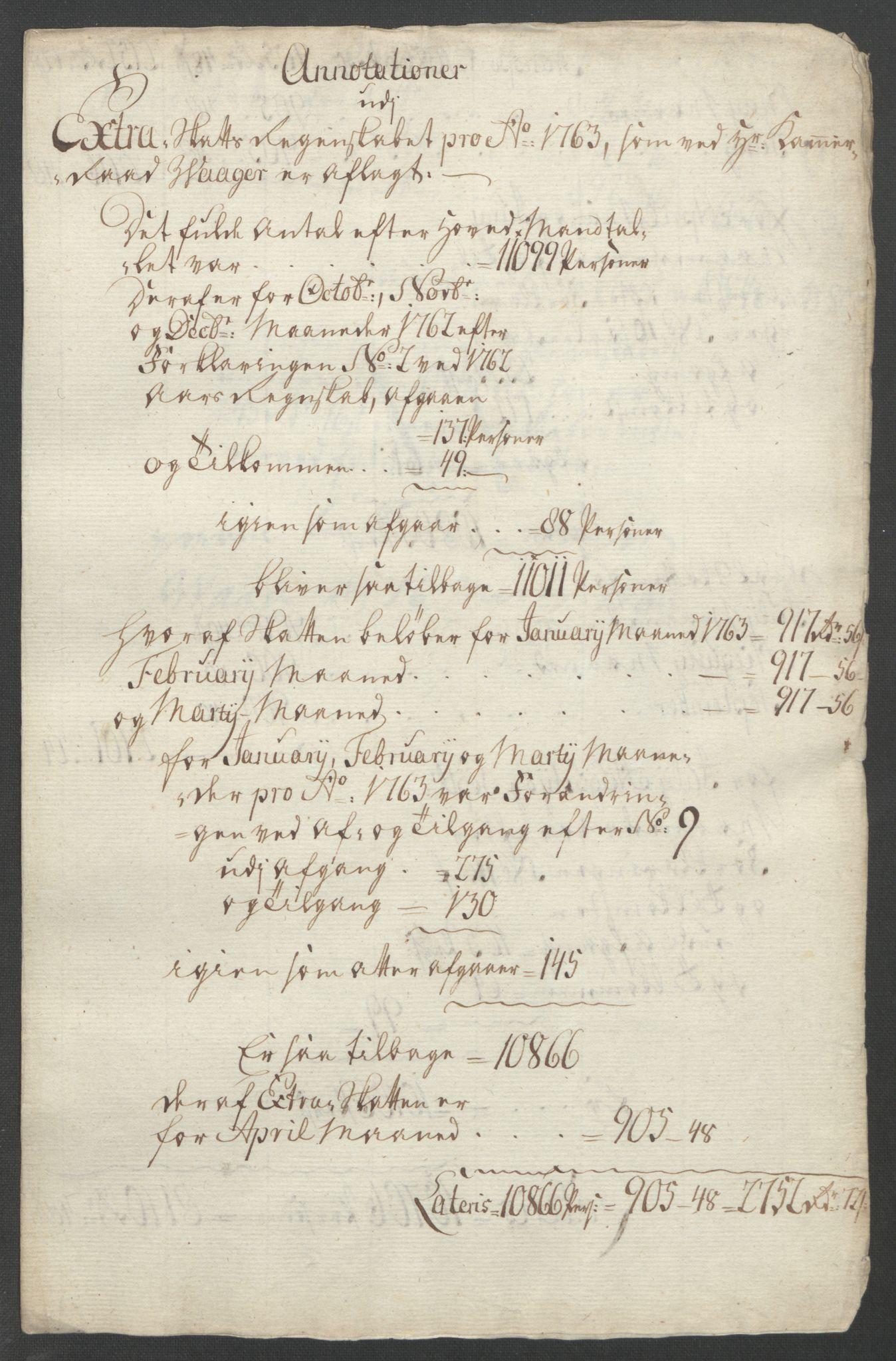 RA, Rentekammeret inntil 1814, Reviderte regnskaper, Fogderegnskap, R46/L2835: Ekstraskatten Jæren og Dalane, 1762-1764, s. 68