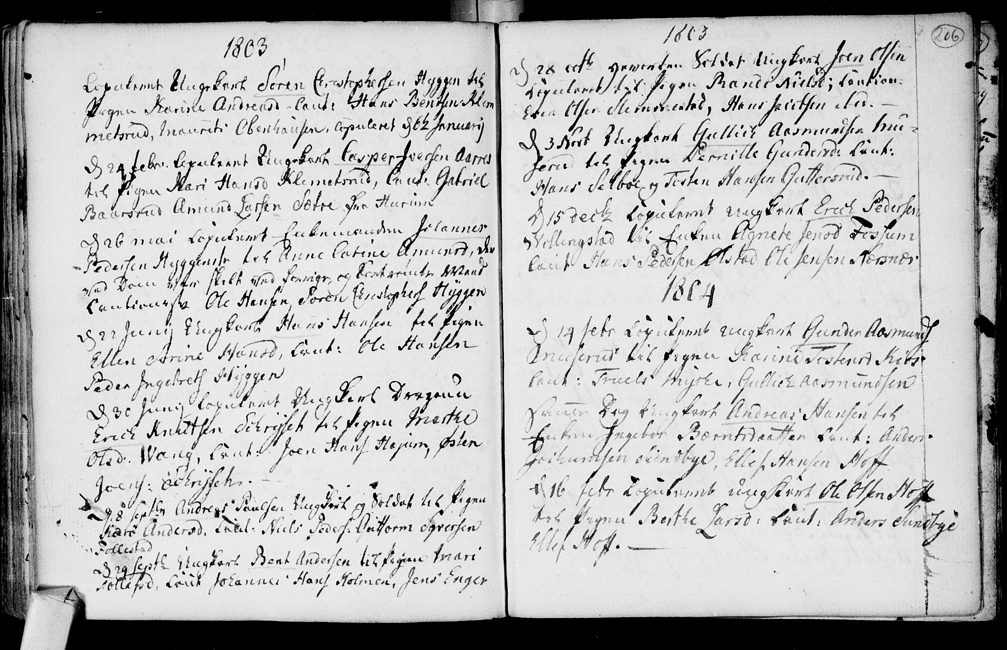 SAKO, Røyken kirkebøker, F/Fa/L0003: Ministerialbok nr. 3, 1782-1813, s. 206