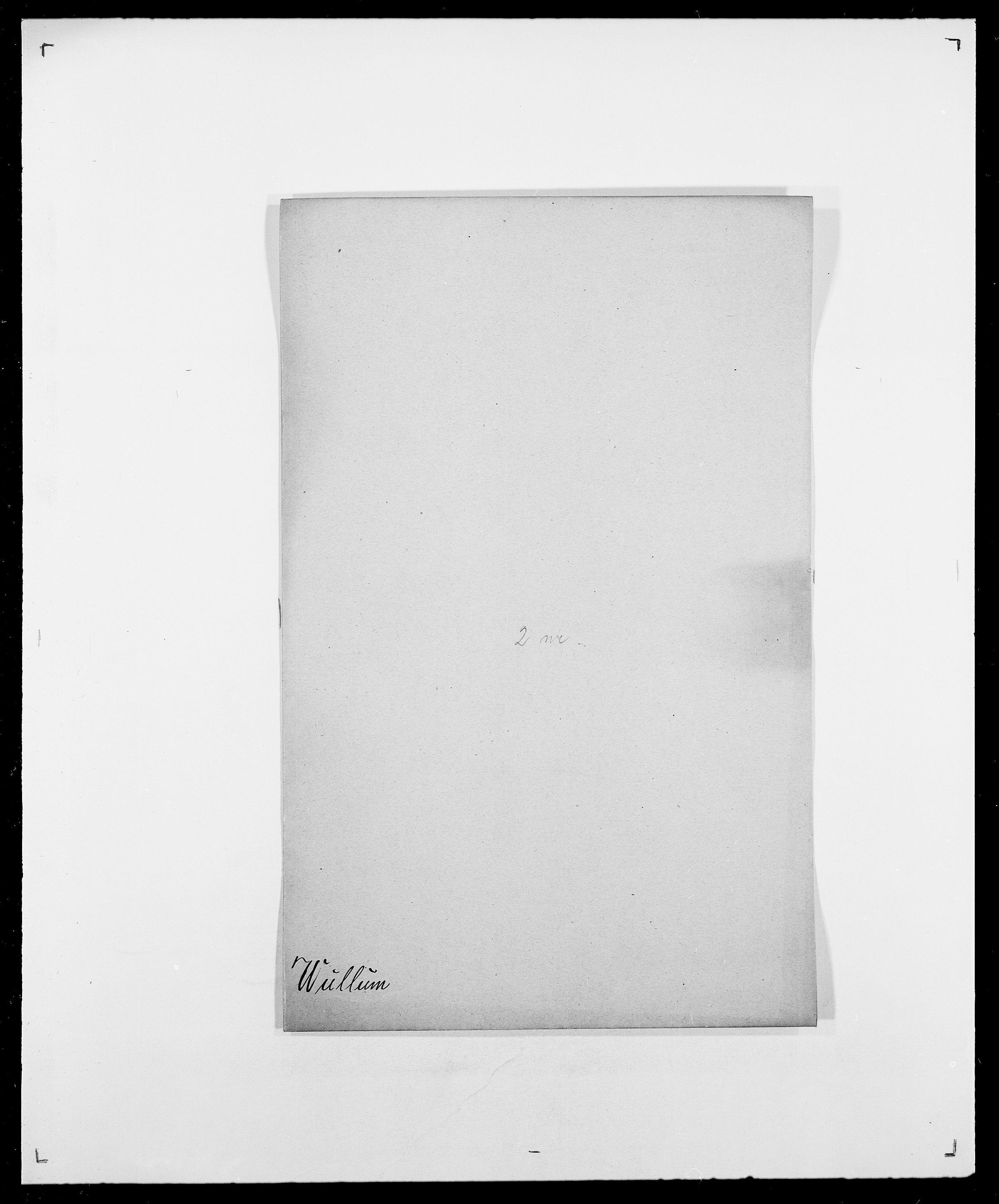 SAO, Delgobe, Charles Antoine - samling, D/Da/L0043: Wulfsberg - v. Zanten, s. 10