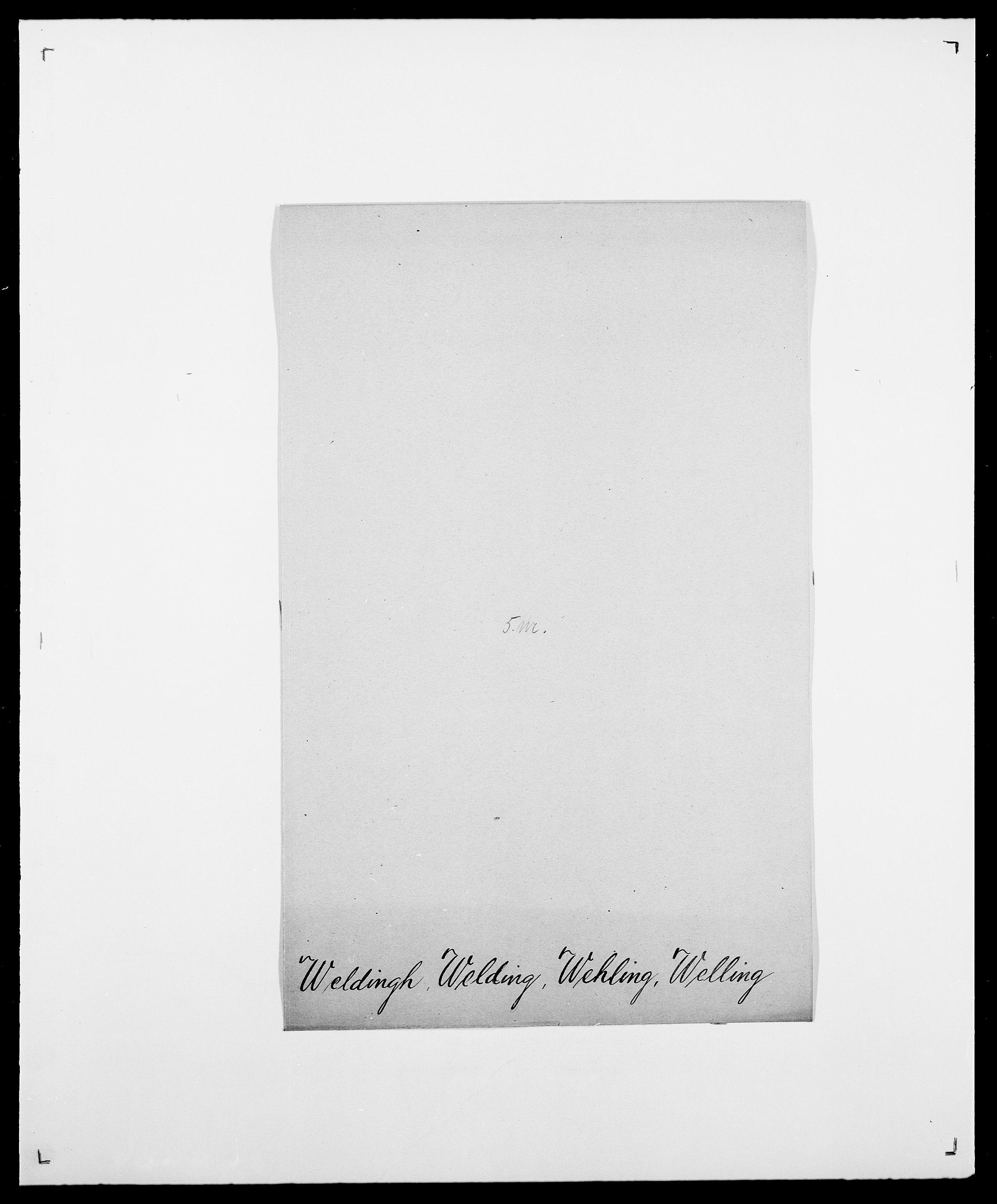 SAO, Delgobe, Charles Antoine - samling, D/Da/L0040: Usgaard - Velund, s. 622