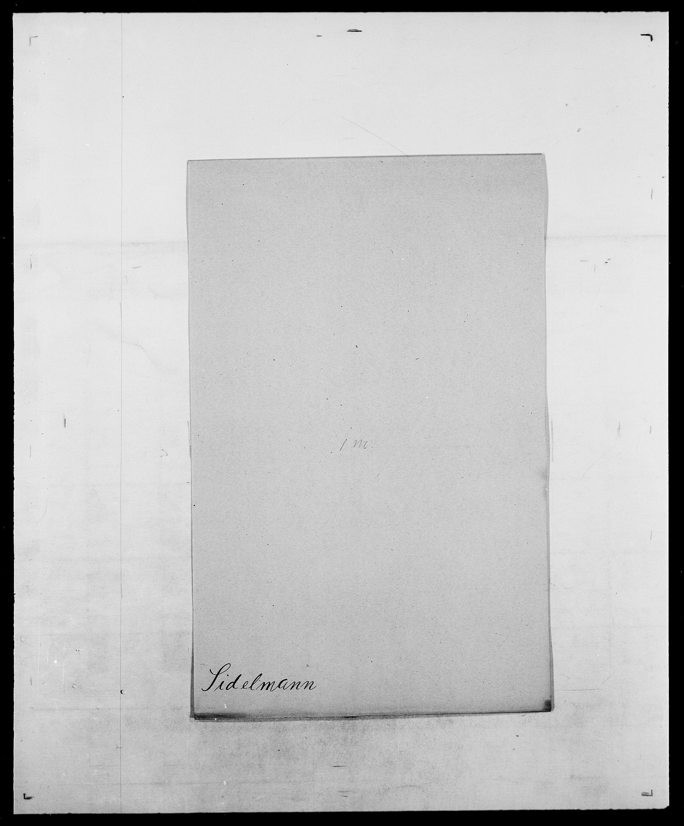 SAO, Delgobe, Charles Antoine - samling, D/Da/L0035: Schnabel - sjetman, s. 758
