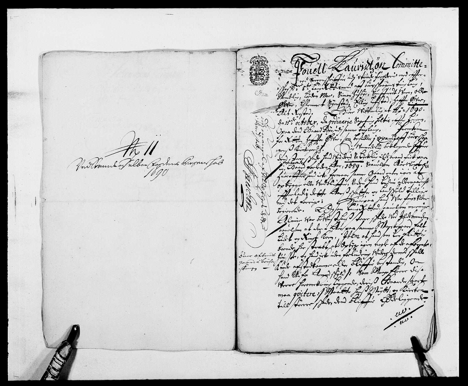 RA, Rentekammeret inntil 1814, Reviderte regnskaper, Fogderegnskap, R61/L4102: Fogderegnskap Strinda og Selbu, 1689-1690, s. 281