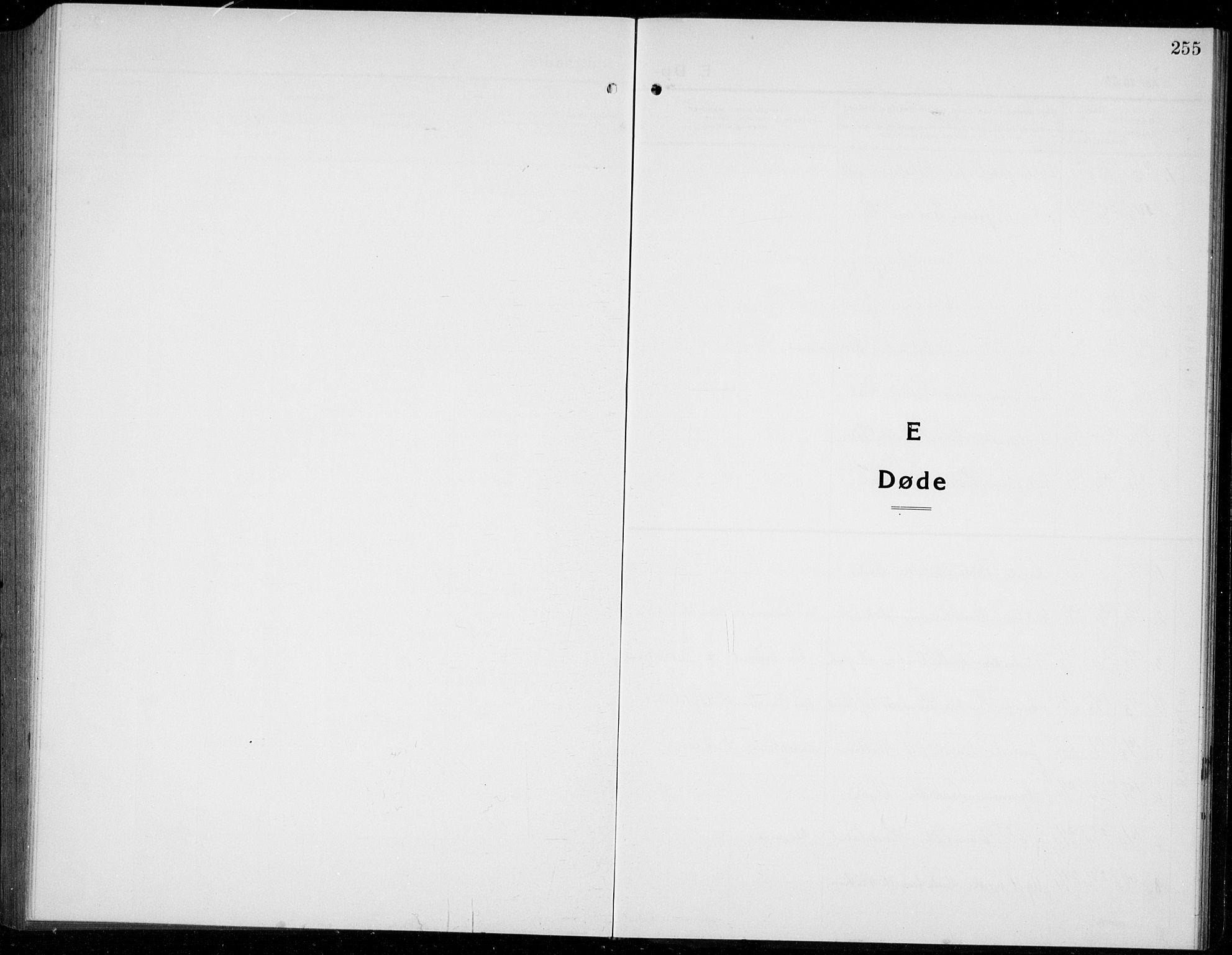 SAB, Os sokneprestembete*, Klokkerbok nr. A 5, 1923-1941, s. 255