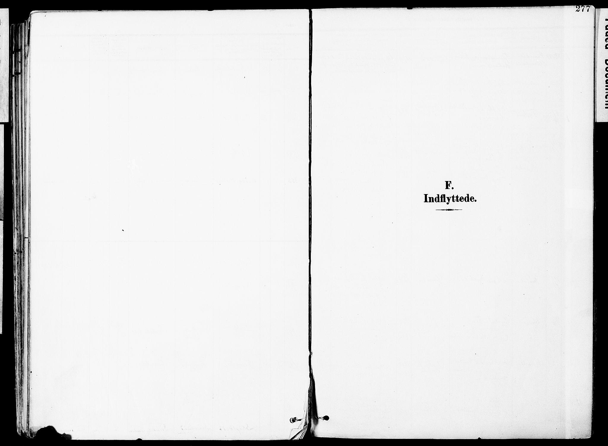 SAO, Vestby prestekontor Kirkebøker, F/Fa/L0010: Ministerialbok nr. I 10, 1900-1926, s. 277