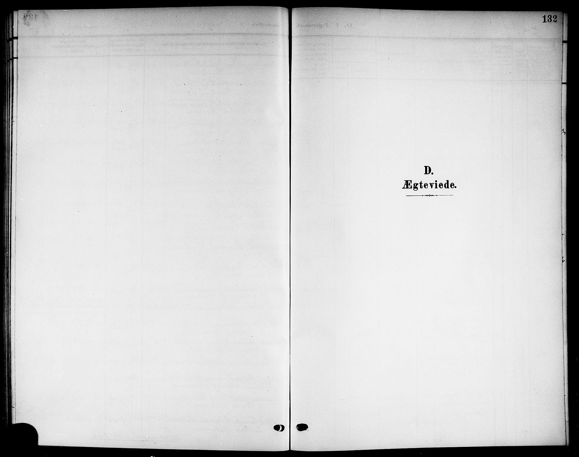 SAKO, Solum kirkebøker, G/Gb/L0005: Klokkerbok nr. II 5, 1905-1914, s. 132