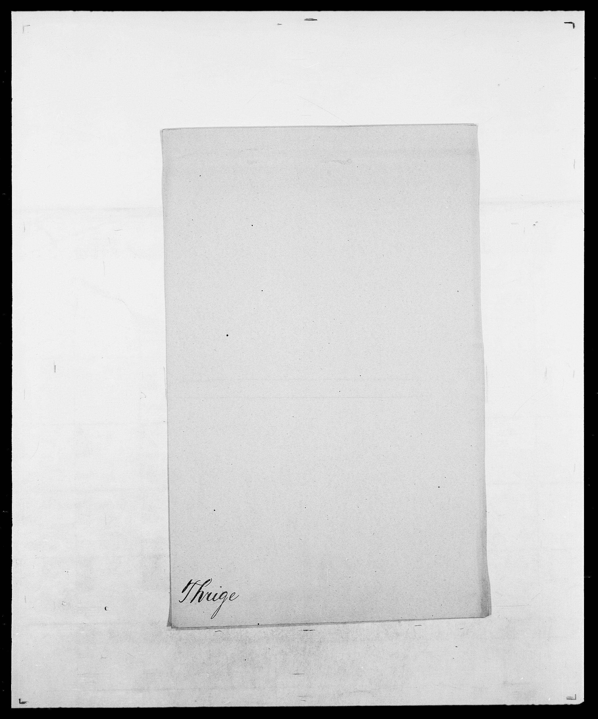 SAO, Delgobe, Charles Antoine - samling, D/Da/L0038: Svanenskjold - Thornsohn, s. 974