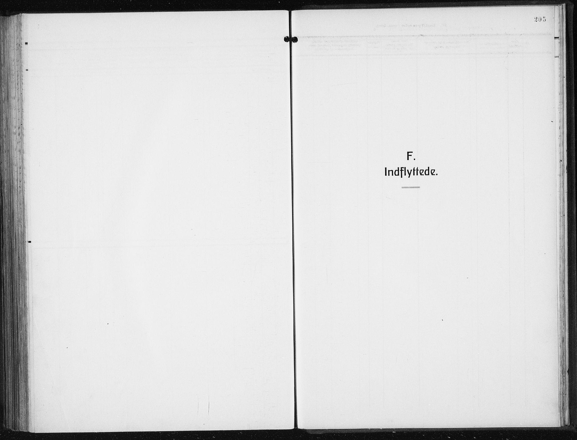 SAB, Privatarkiv 110 - Den norske sjømannsmisjon i utlandet/New York, H/Ha/L0008: Ministerialbok nr. A 8, 1923-1935, s. 205