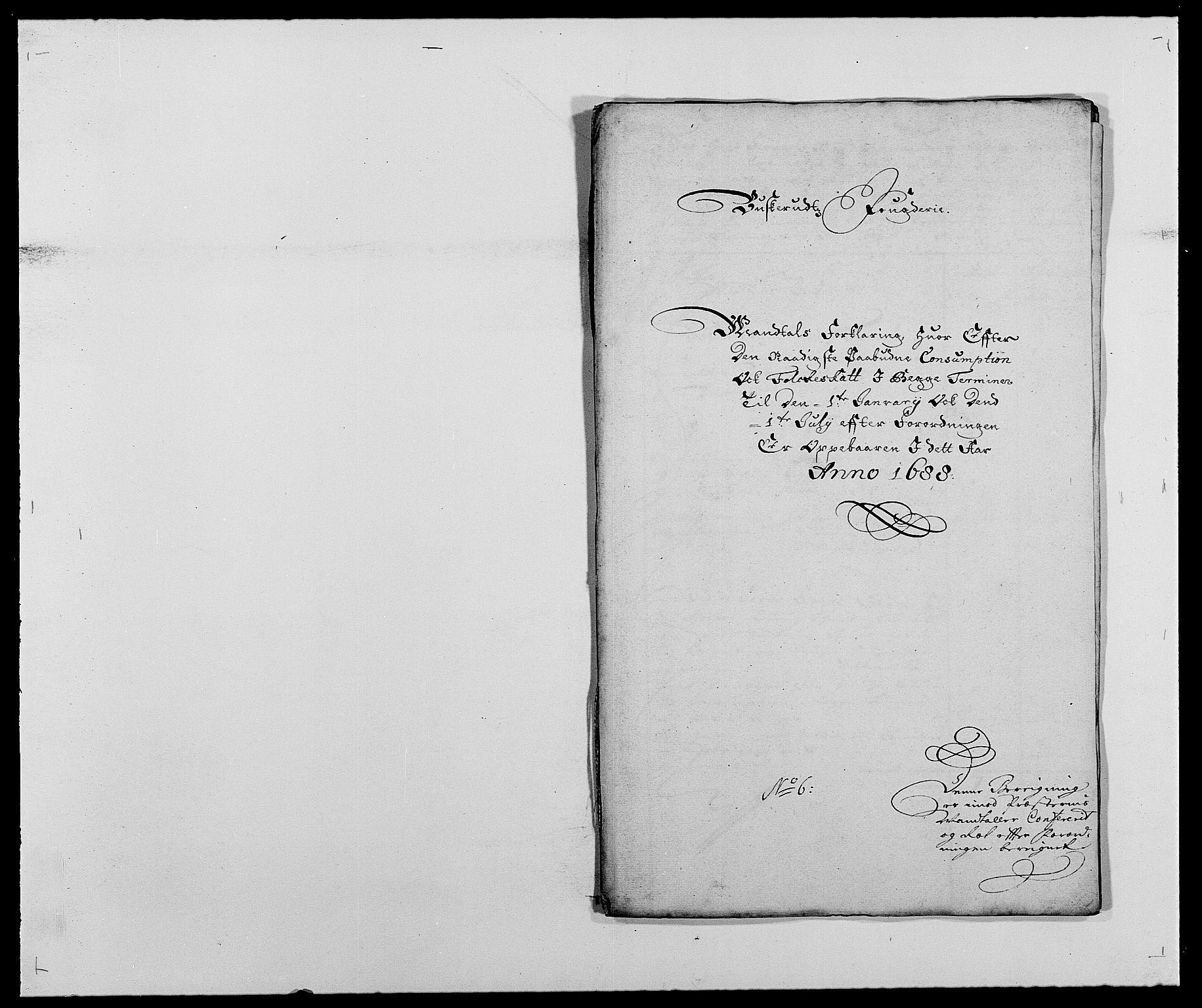 RA, Rentekammeret inntil 1814, Reviderte regnskaper, Fogderegnskap, R25/L1679: Fogderegnskap Buskerud, 1687-1688, s. 447