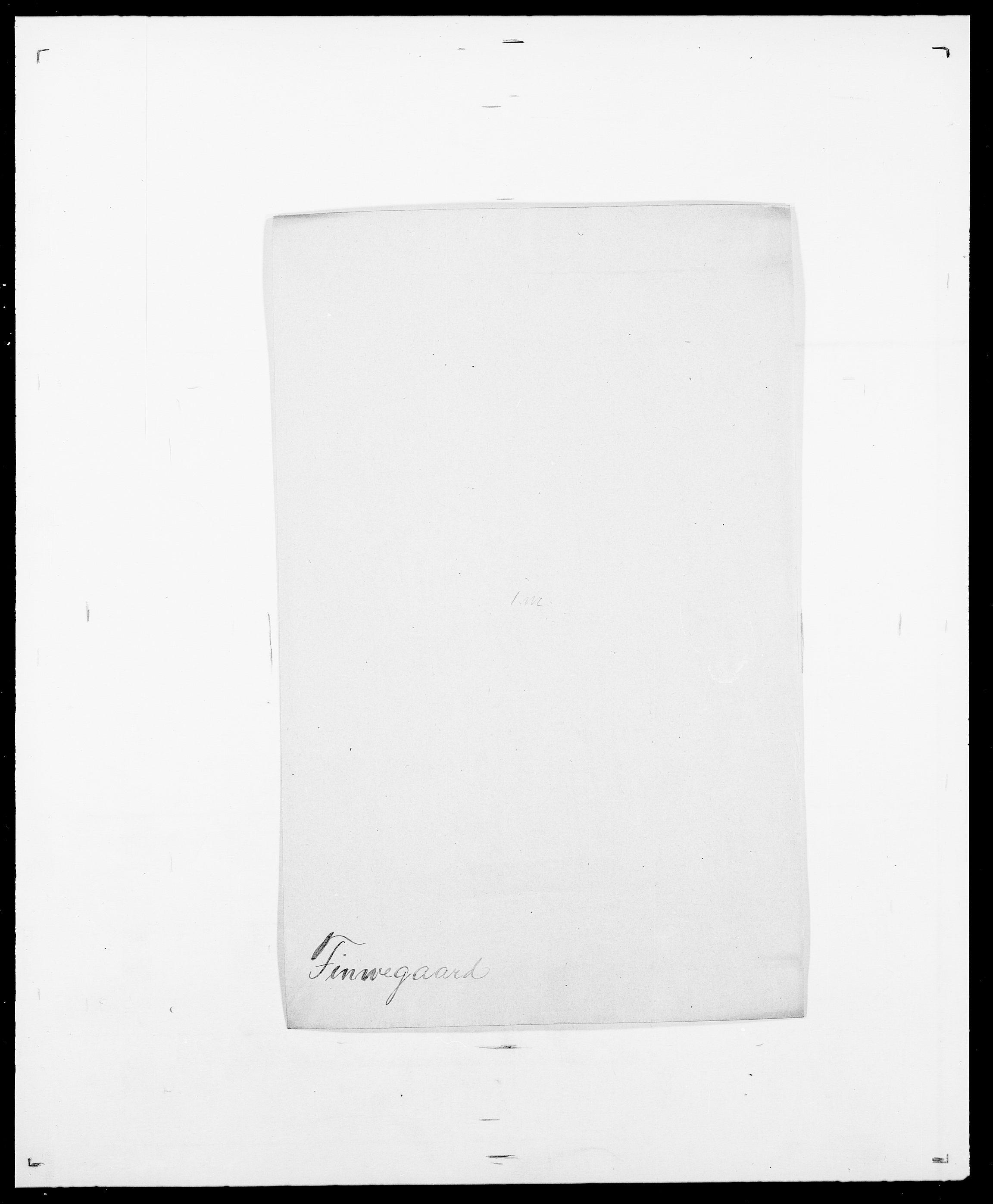SAO, Delgobe, Charles Antoine - samling, D/Da/L0011: Fahlander - Flood, Flod, s. 515