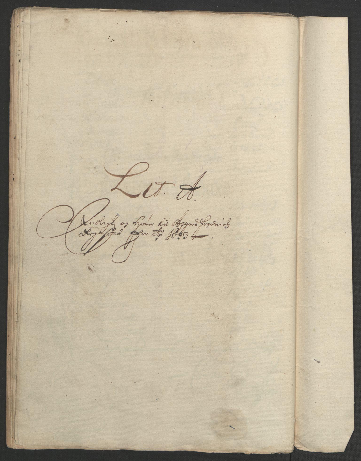 RA, Rentekammeret inntil 1814, Reviderte regnskaper, Fogderegnskap, R08/L0426: Fogderegnskap Aker, 1692-1693, s. 322