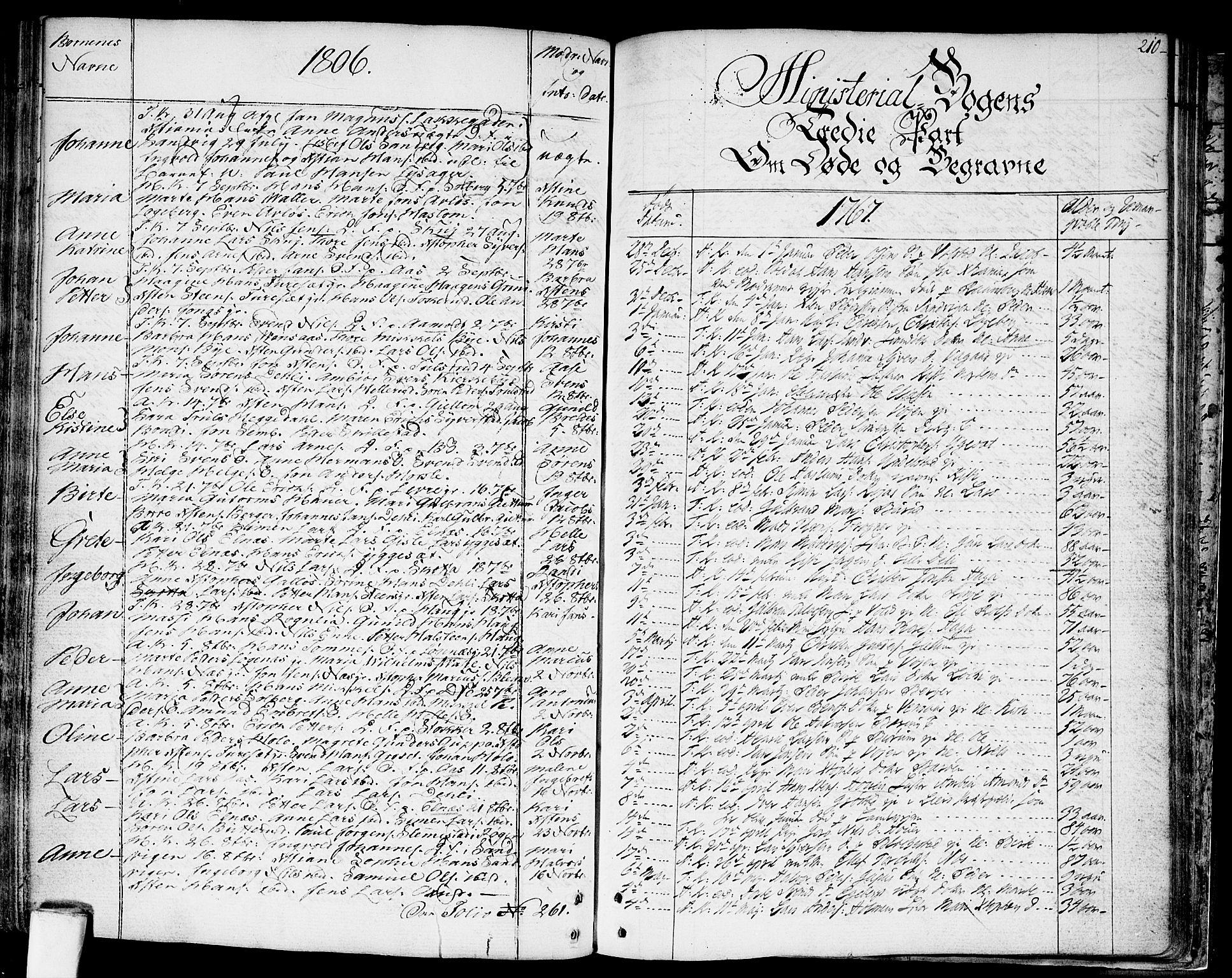 SAO, Asker prestekontor Kirkebøker, F/Fa/L0003: Ministerialbok nr. I 3, 1767-1807, s. 210