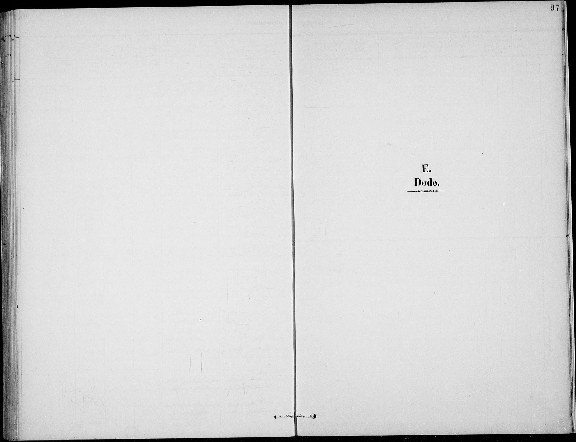 SAH, Nordre Land prestekontor, Klokkerbok nr. 14, 1891-1907, s. 97