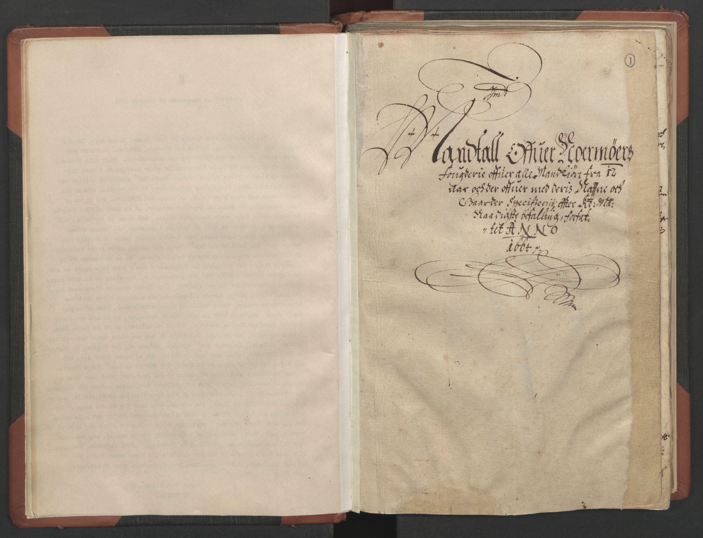 RA, Fogdenes og sorenskrivernes manntall 1664-1666, nr. 17: Nordmøre fogderi, 1664, s. 1