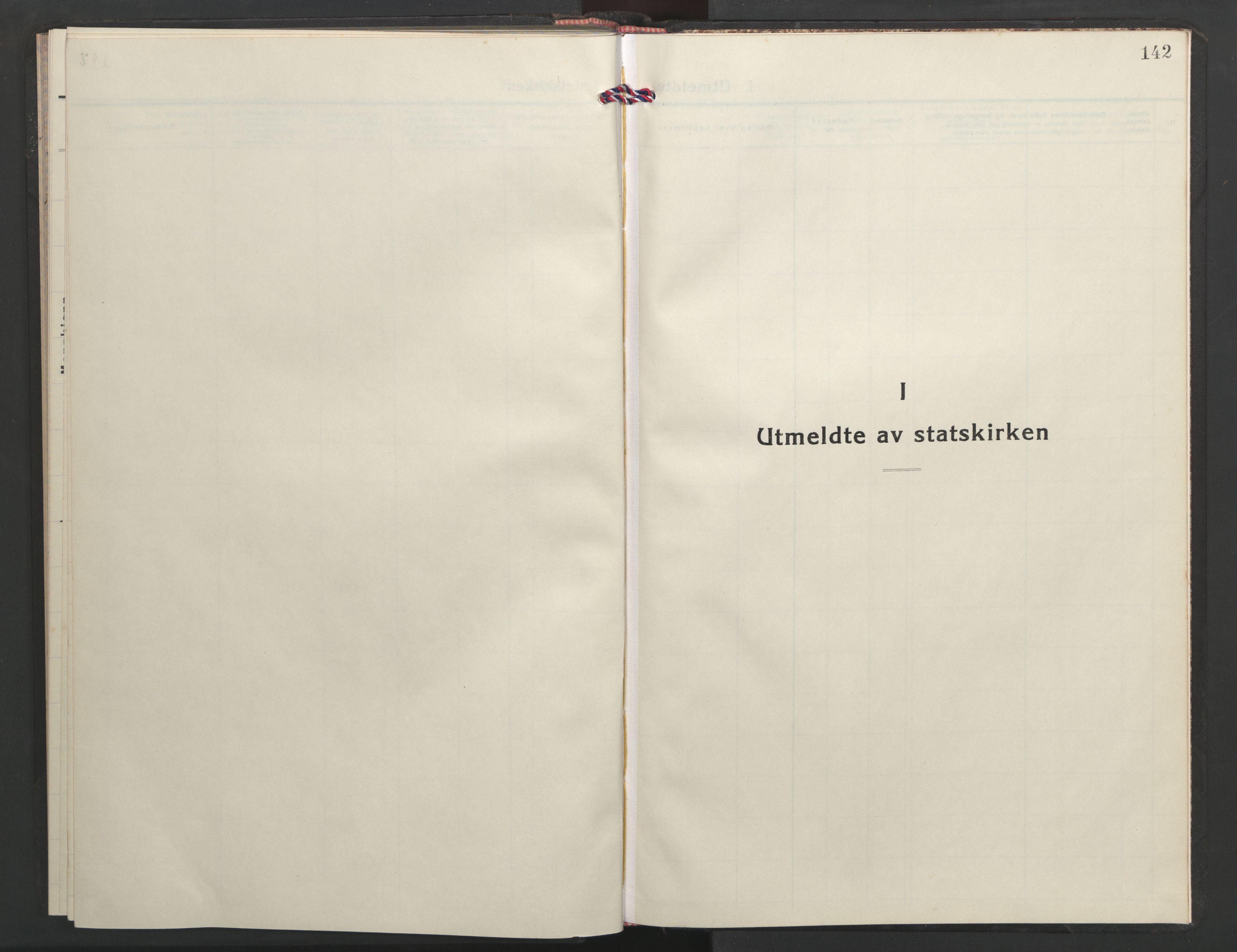SAT, Ministerialprotokoller, klokkerbøker og fødselsregistre - Sør-Trøndelag, 635/L0556: Klokkerbok nr. 635C04, 1943-1945, s. 142